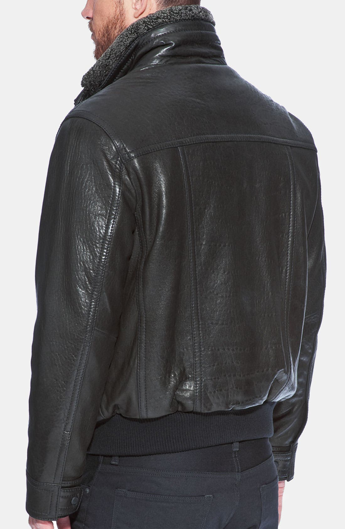 Alternate Image 2  - Andrew Marc 'Radar' Leather Jacket