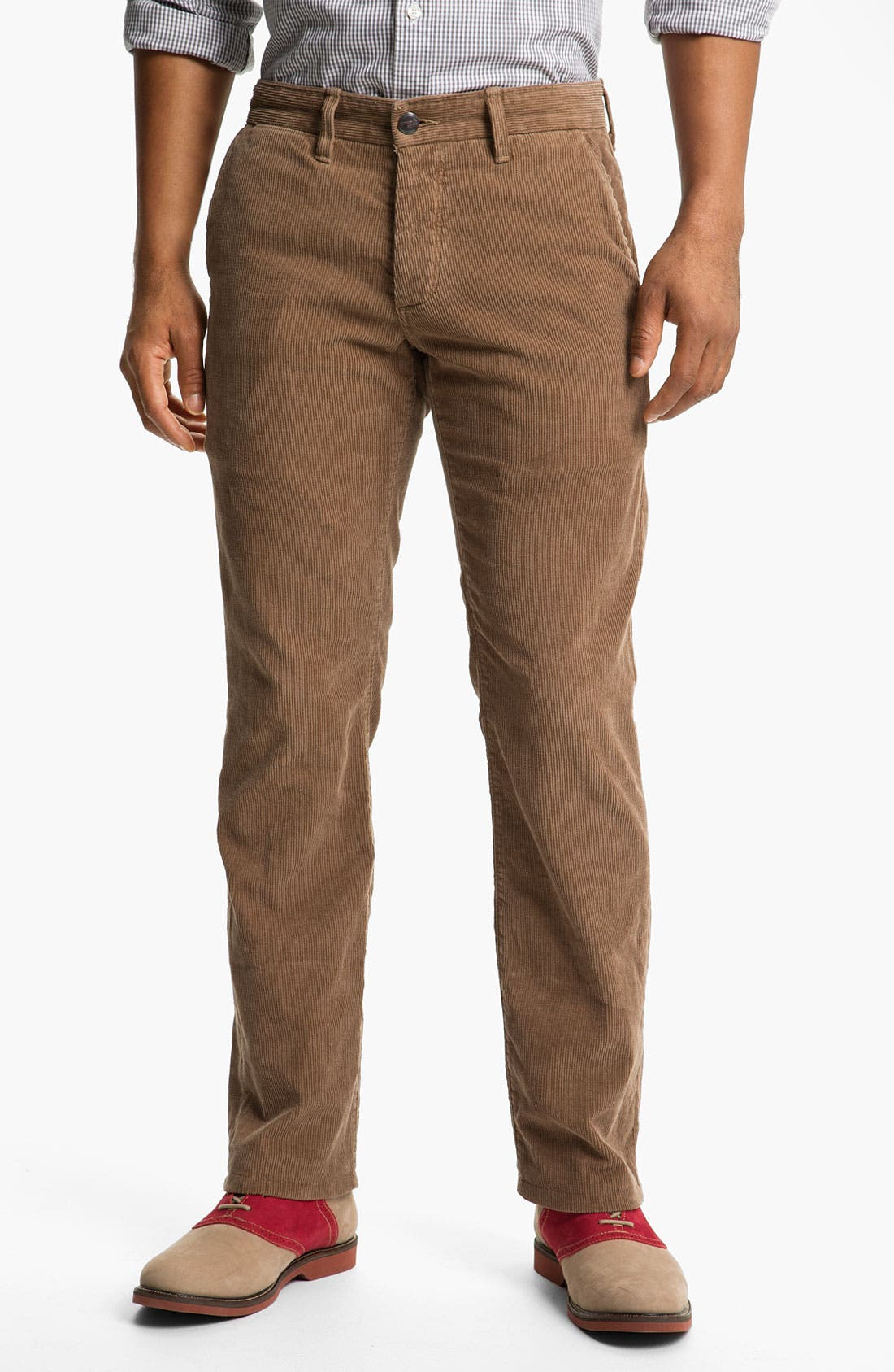 Alternate Image 1 Selected - Grown & Sewn 'Legend' Corduroy Pants