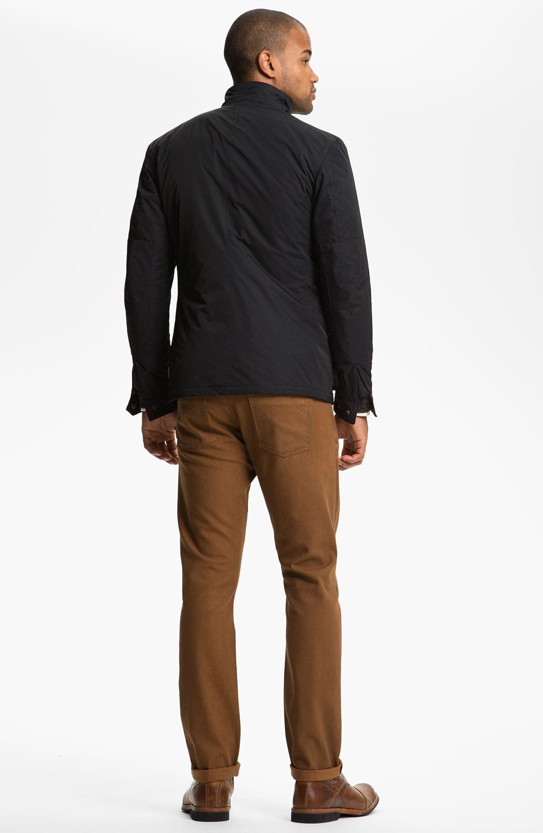 Alternate Image 6  - DL1961 'Russell' Slim Straight Leg Jeans (Desert) (Online Only)