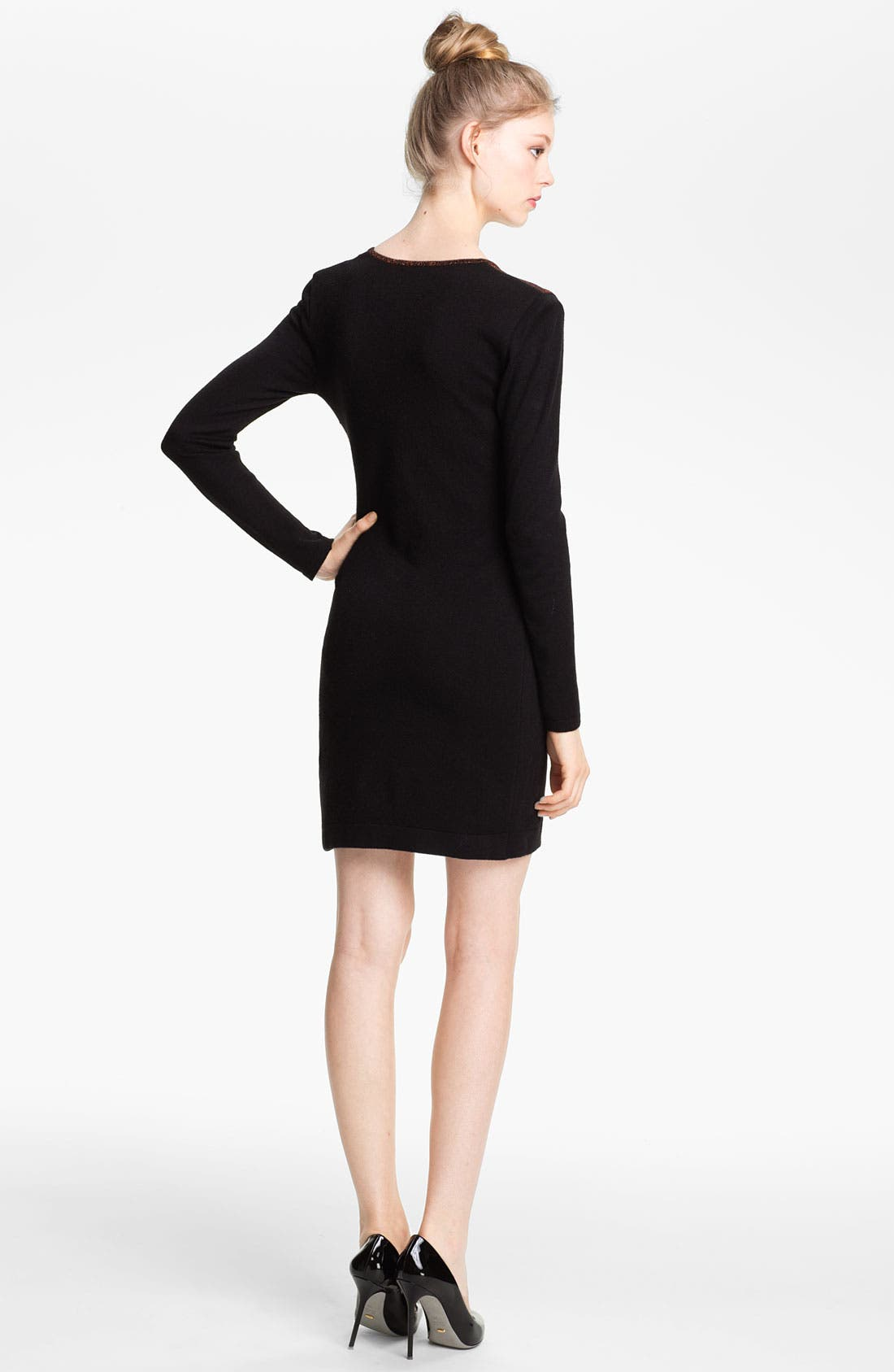 Alternate Image 2  - Mcginn 'Stacie' Colorblock Knit Dress