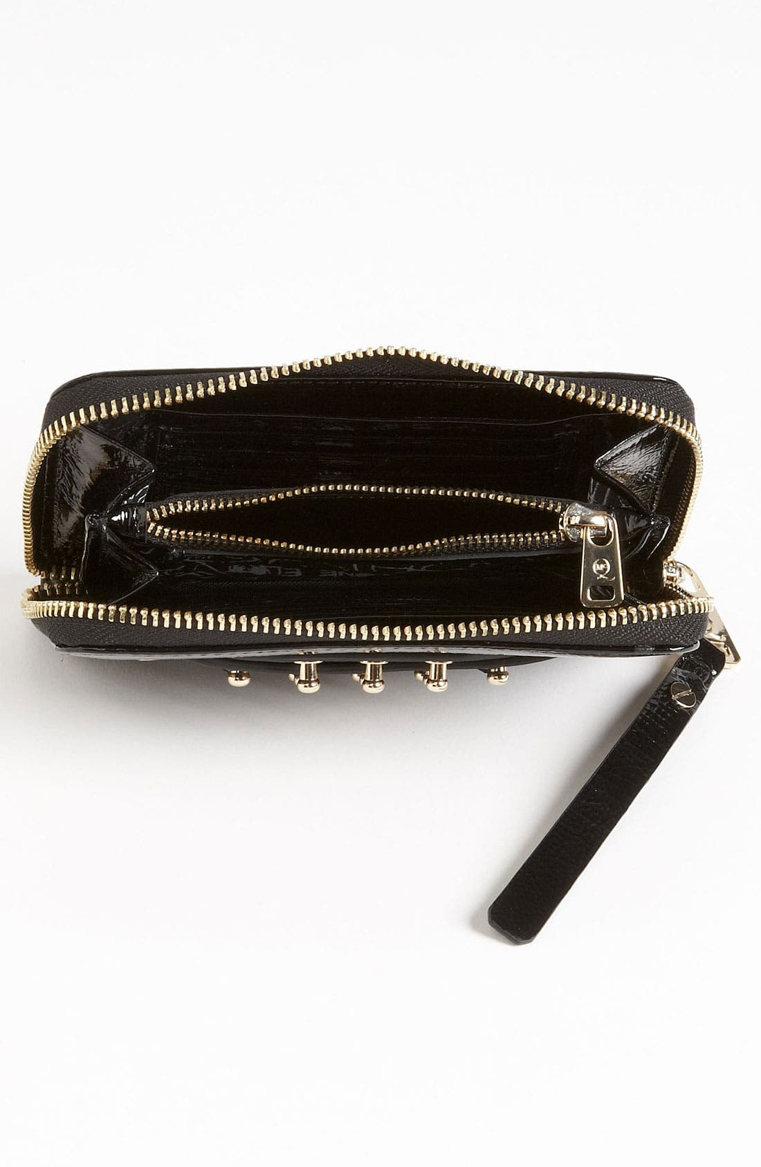 Alternate Image 3  - McQ by Alexander McQueen Patent Leather Wallet