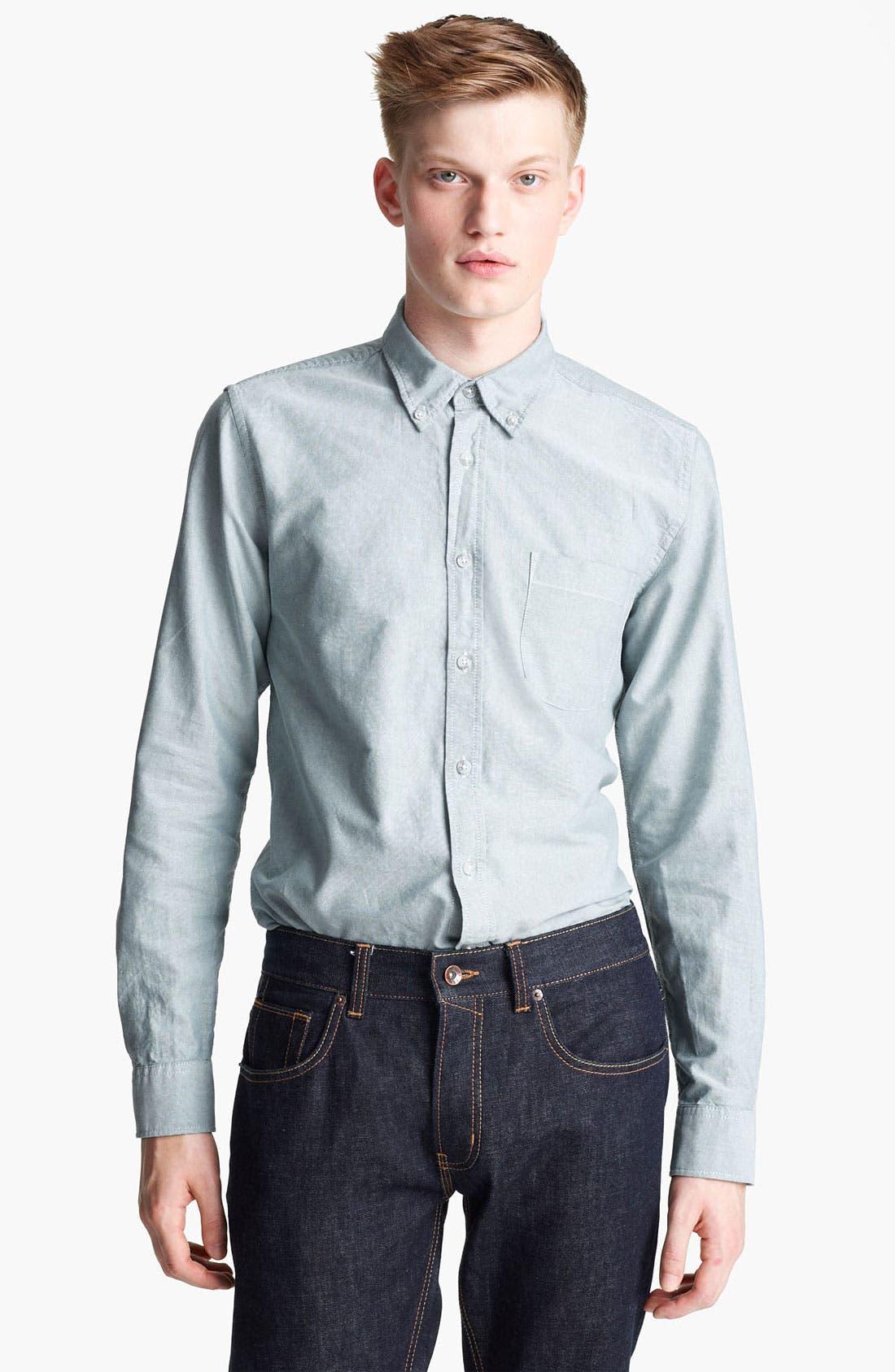 Alternate Image 1 Selected - Topman Oxford Shirt