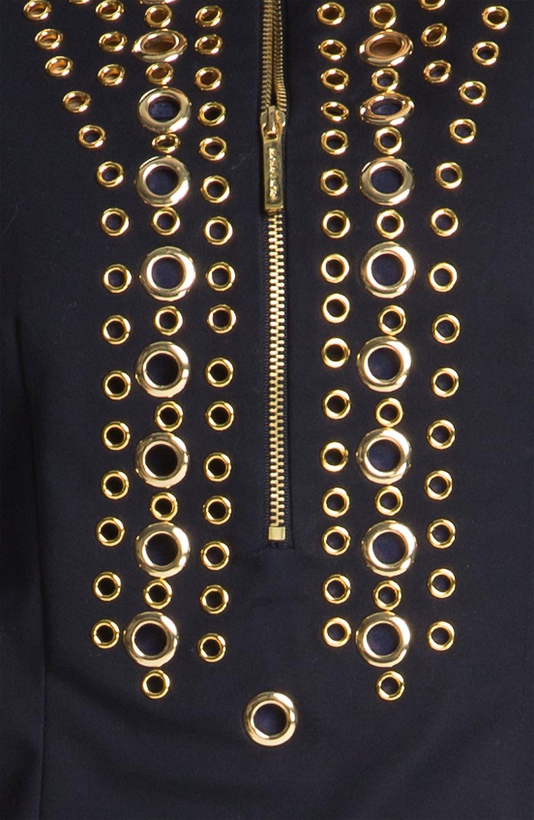 Alternate Image 3  - MICHAEL Michael Kors Grommet Trim Dress