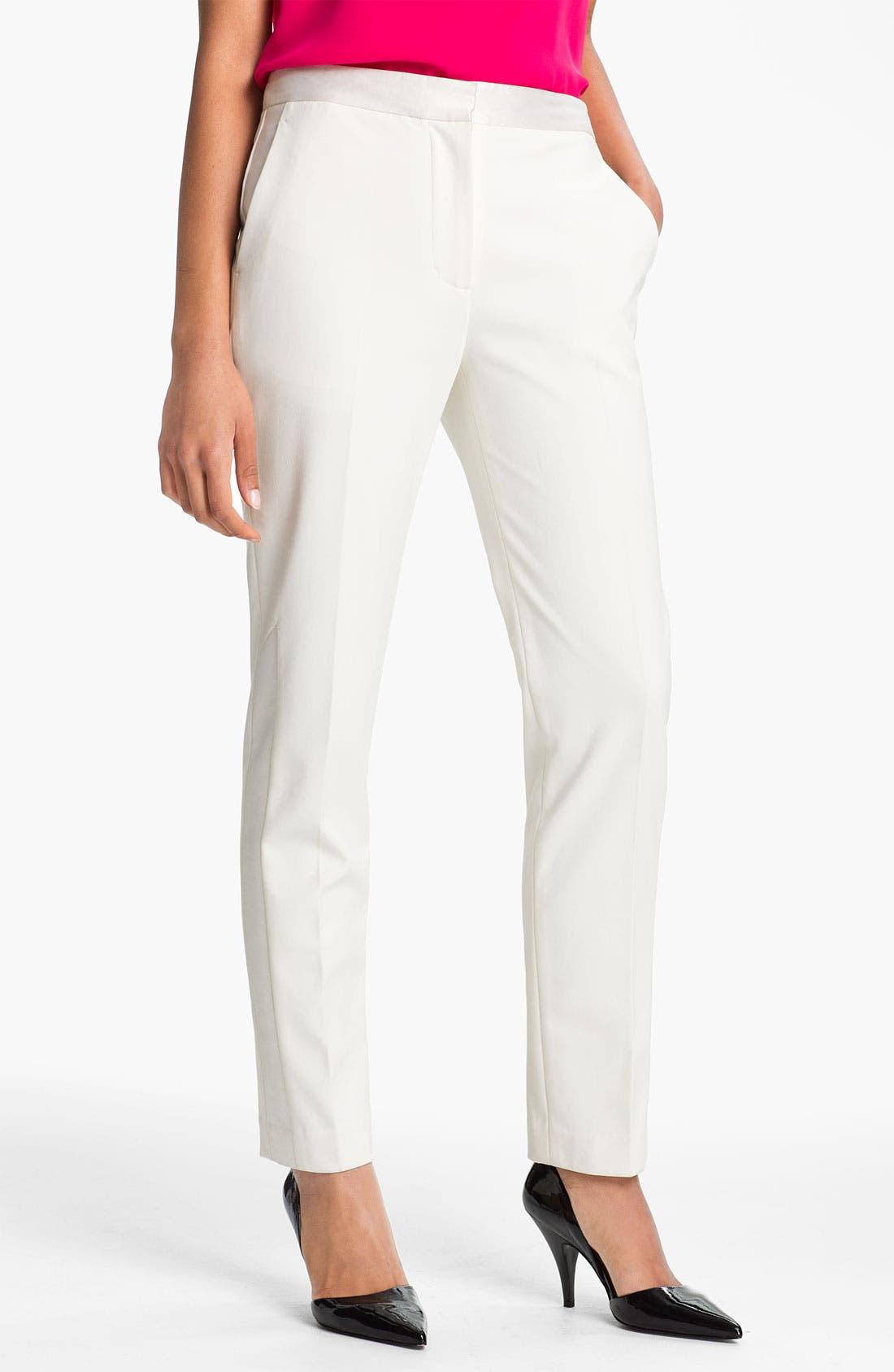 Alternate Image 1 Selected - 3.1 Phillip Lim Slim Tuxedo Pants