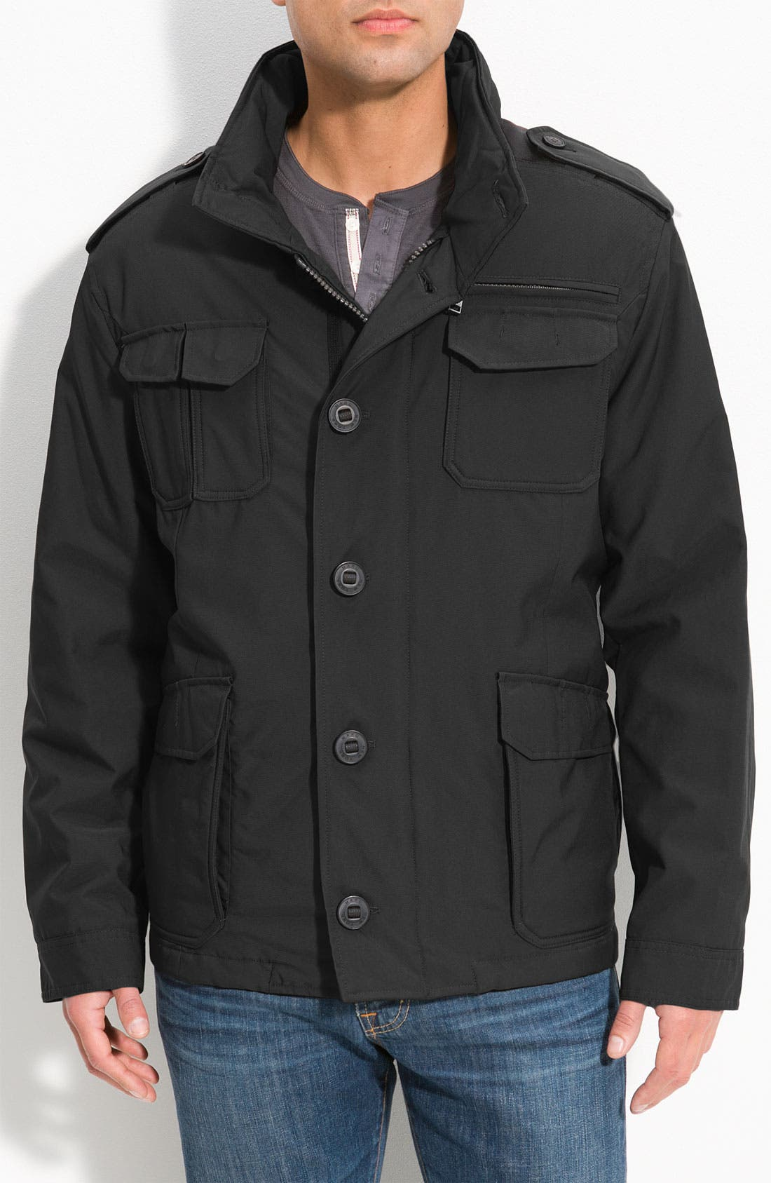 Main Image - Marc New York by Andrew Marc 'Maddox' Stand Collar Jacket