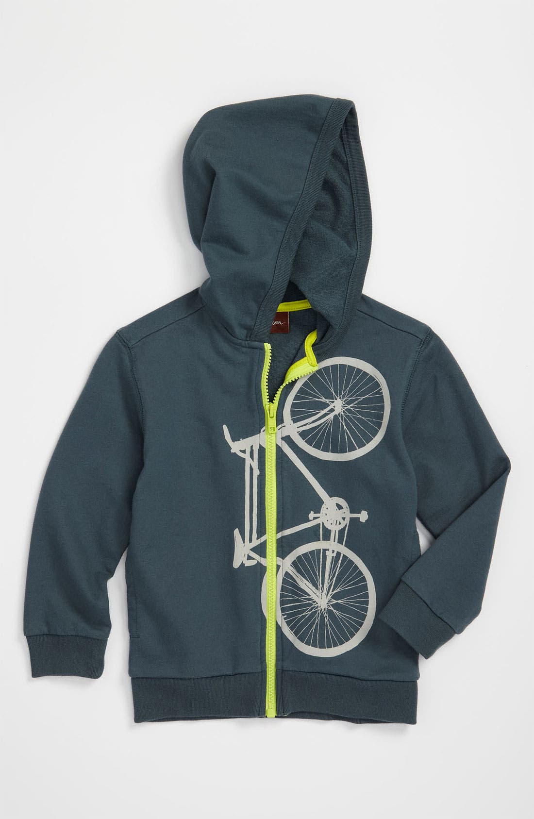 Alternate Image 1 Selected - Tea Collection 'Cykel' Hoodie (Infant)