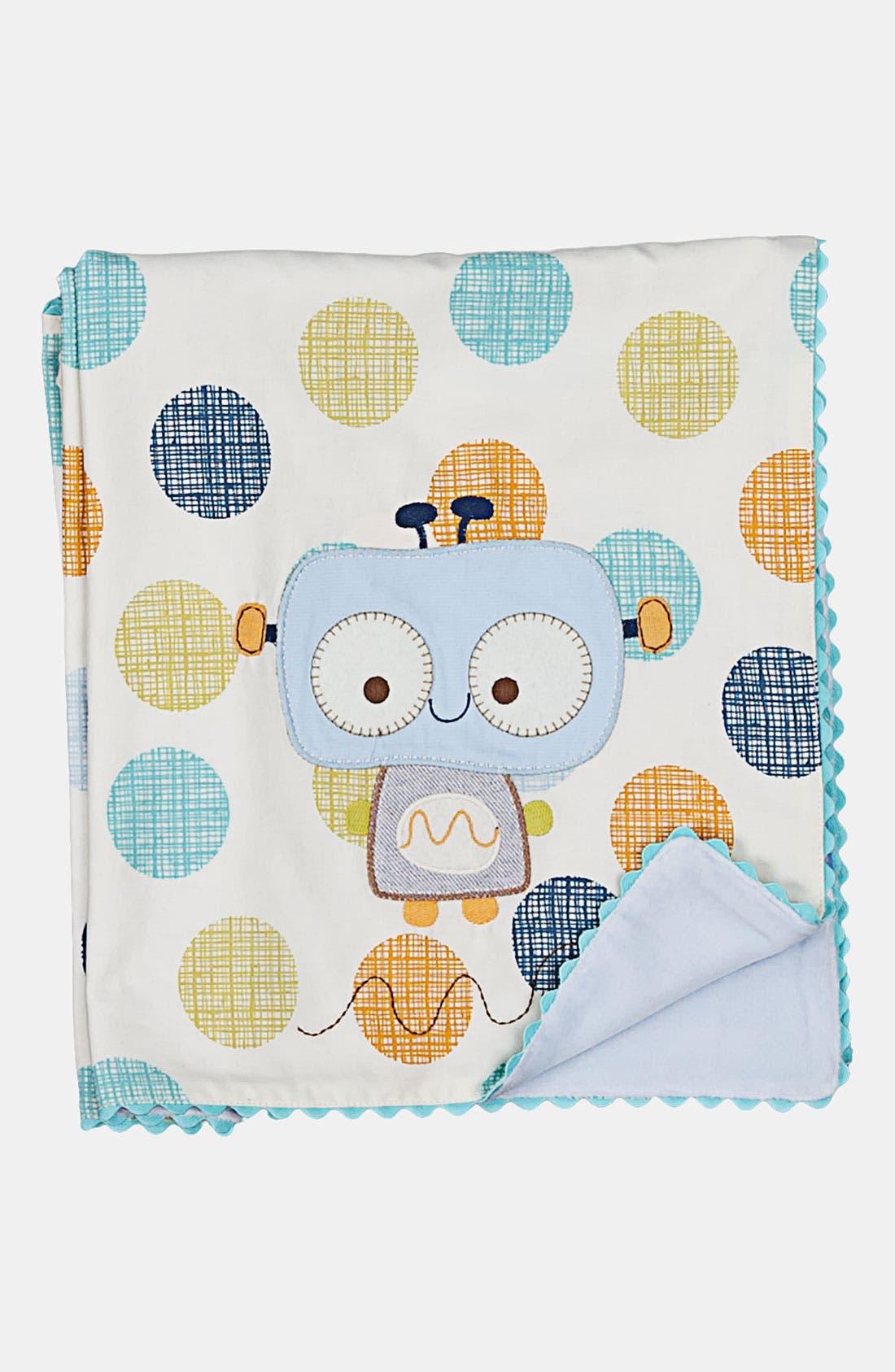 Main Image - Living Textiles Velour Blanket