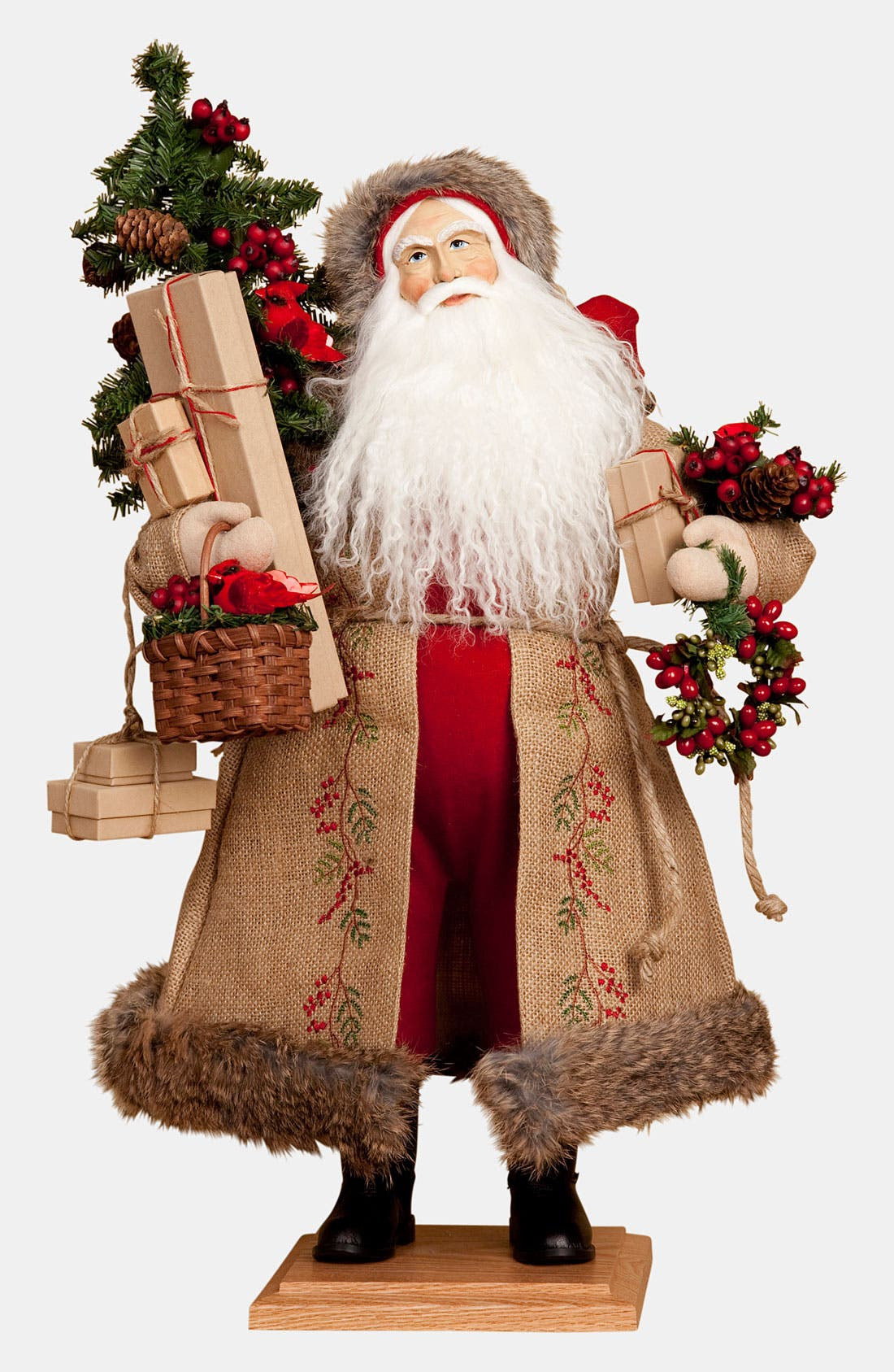 Alternate Image 1 Selected - Lynn Haney 'Countryside Holiday' Santa Figurine