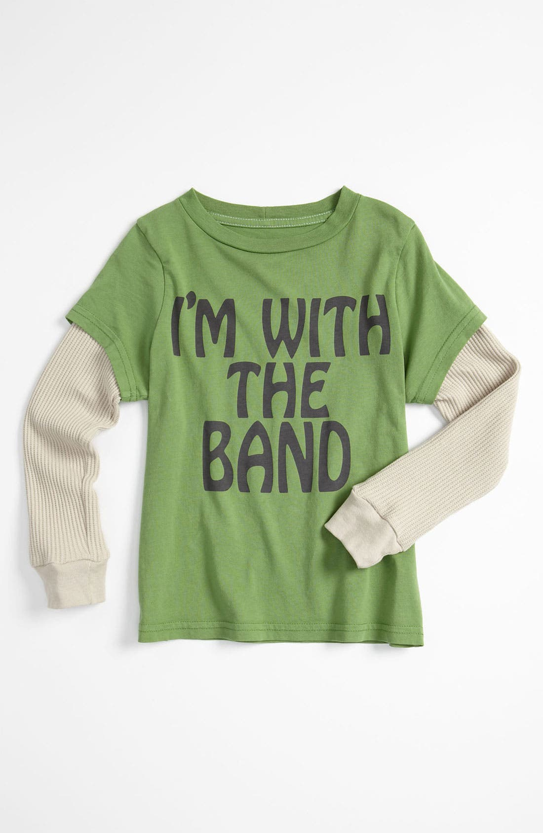 Alternate Image 1 Selected - Peek 'I'm With The Band' T-Shirt (Toddler, Little Boys & Big Boys)