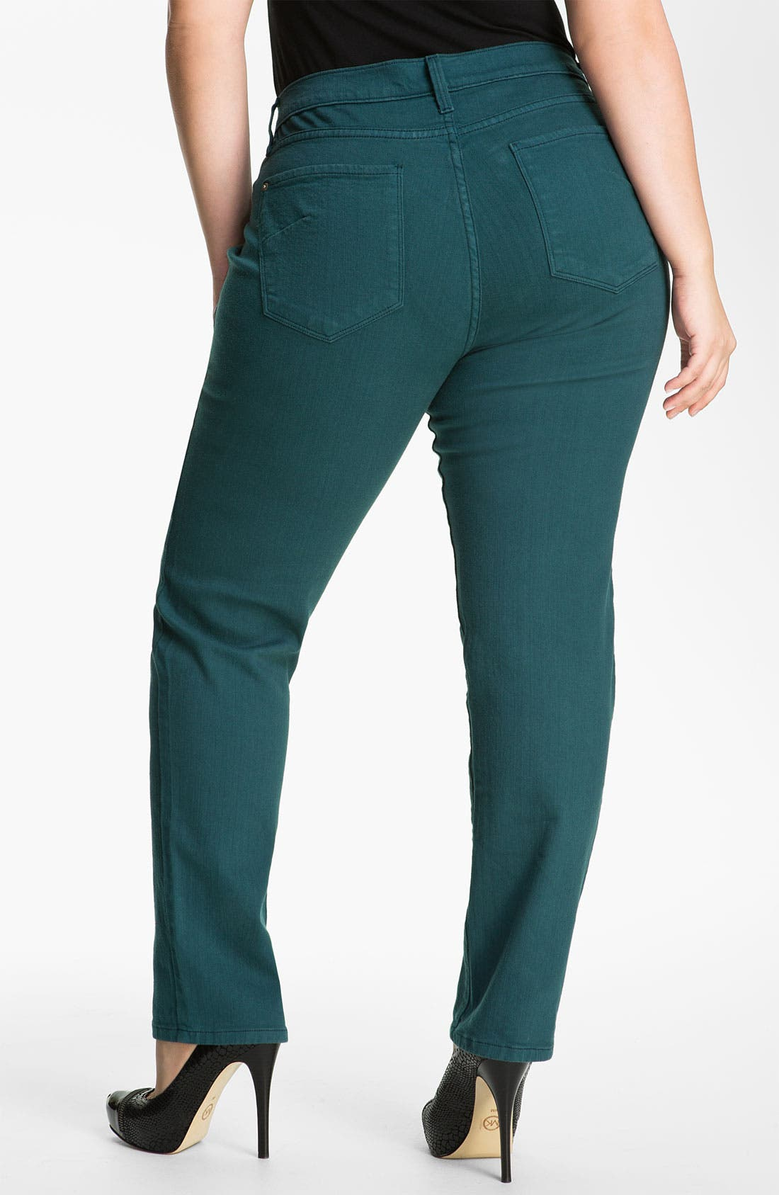 Alternate Image 2  - James Jeans Stretch Denim Leggings (Plus)