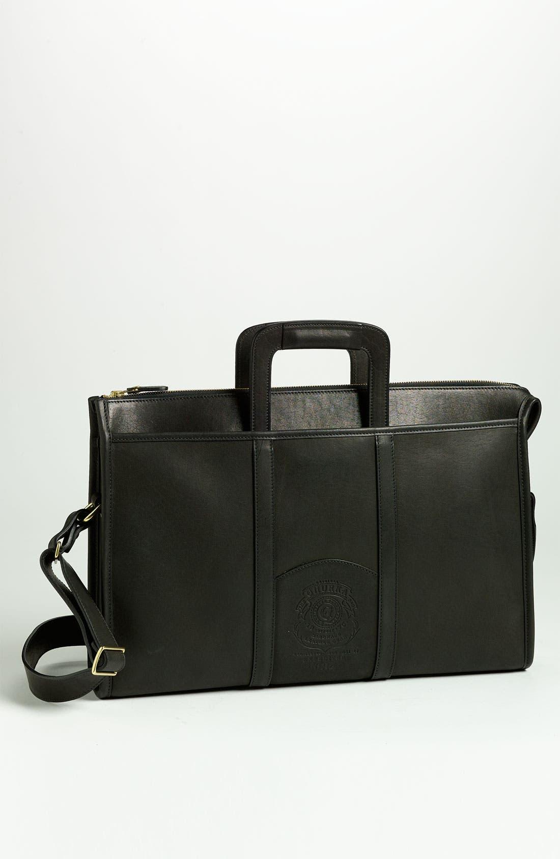 Alternate Image 1 Selected - Ghurka 'Expeditor' Leather Briefcase