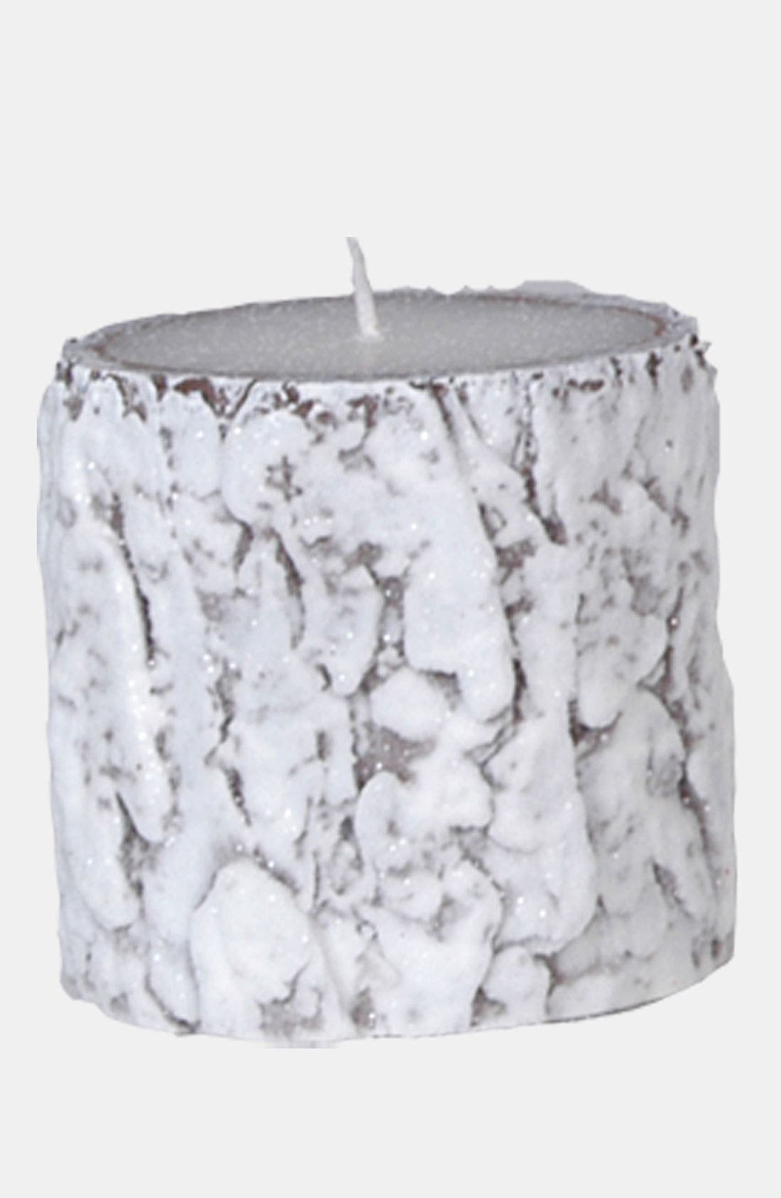 Alternate Image 1 Selected - Fantastic Craft 'Snow Bark' Pillar Candle
