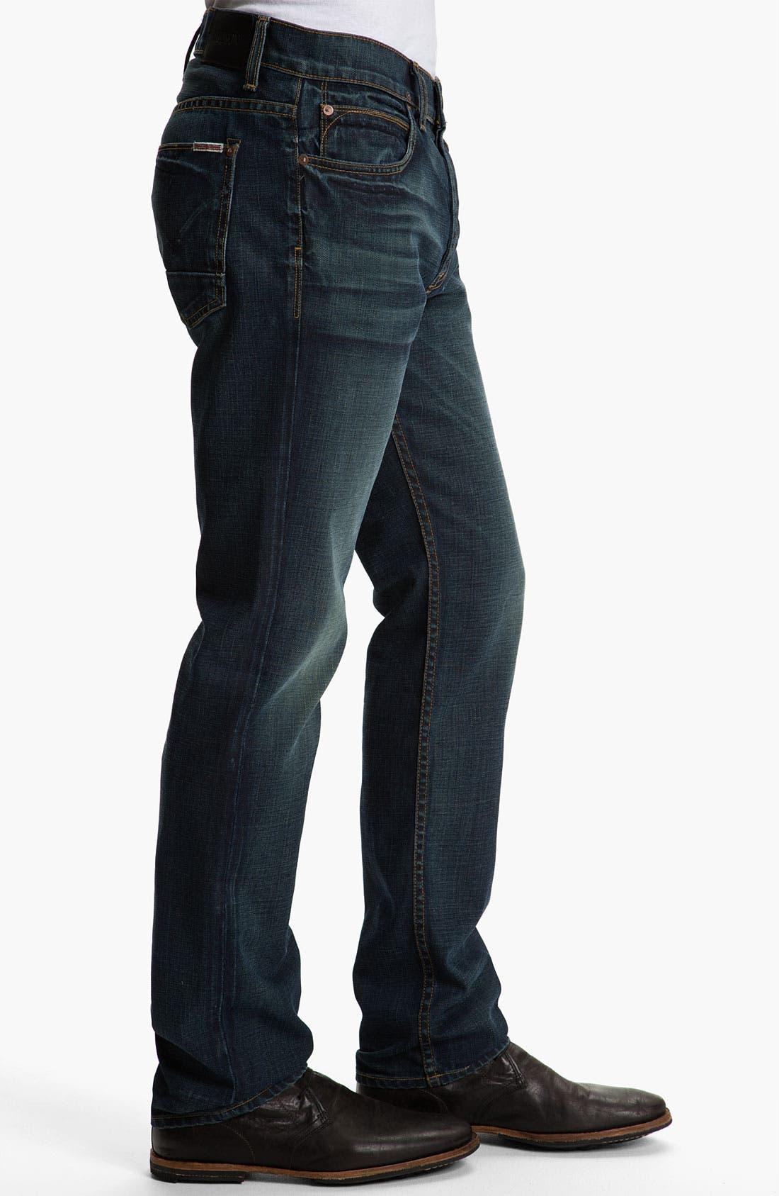 Alternate Image 3  - Hudson Jeans 'Dandy' Slouchy Straight Leg Jeans (Shovel)