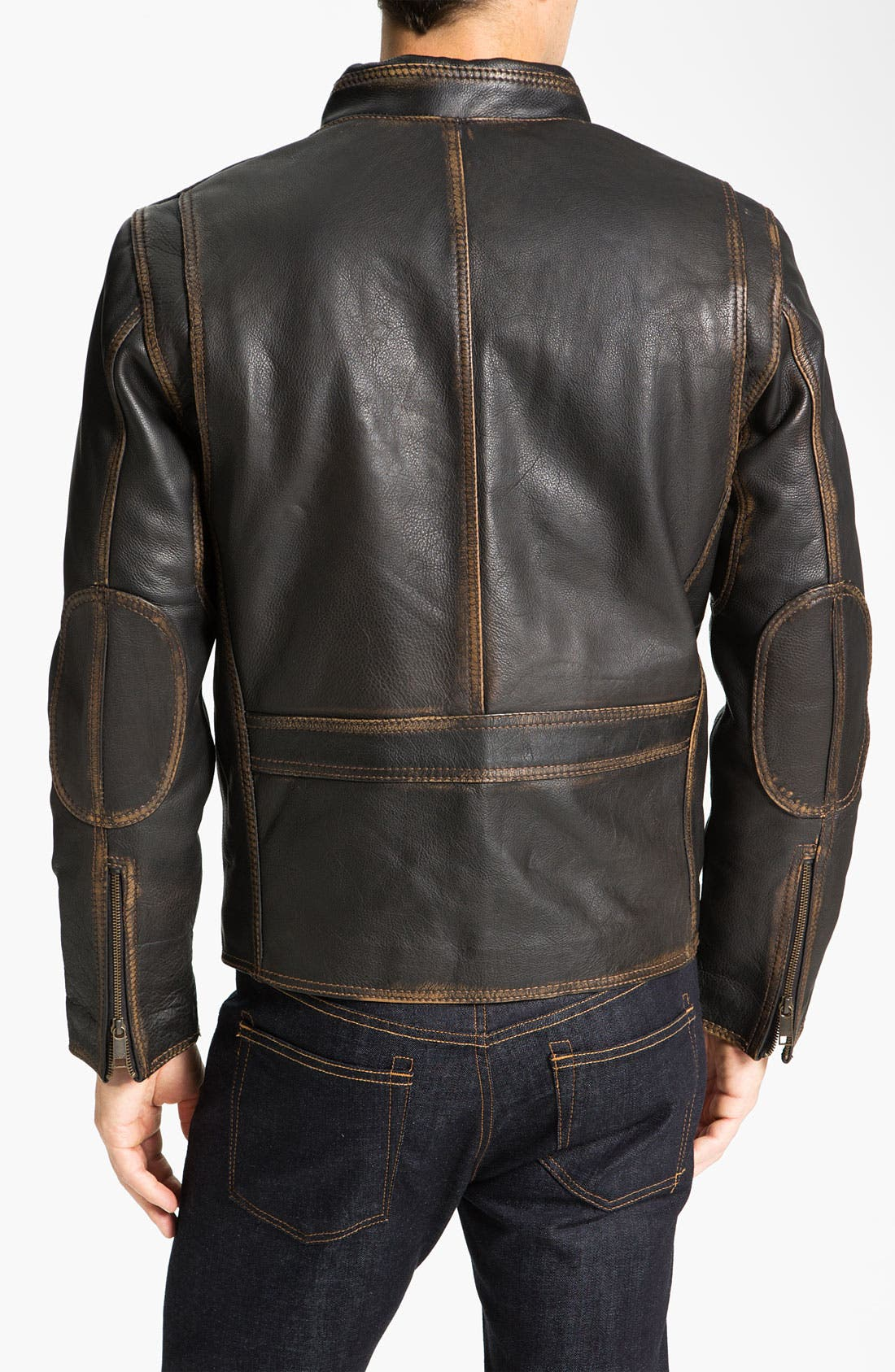 Alternate Image 2  - Marc New York by Andrew Marc 'Cuervo' Leather Jacket