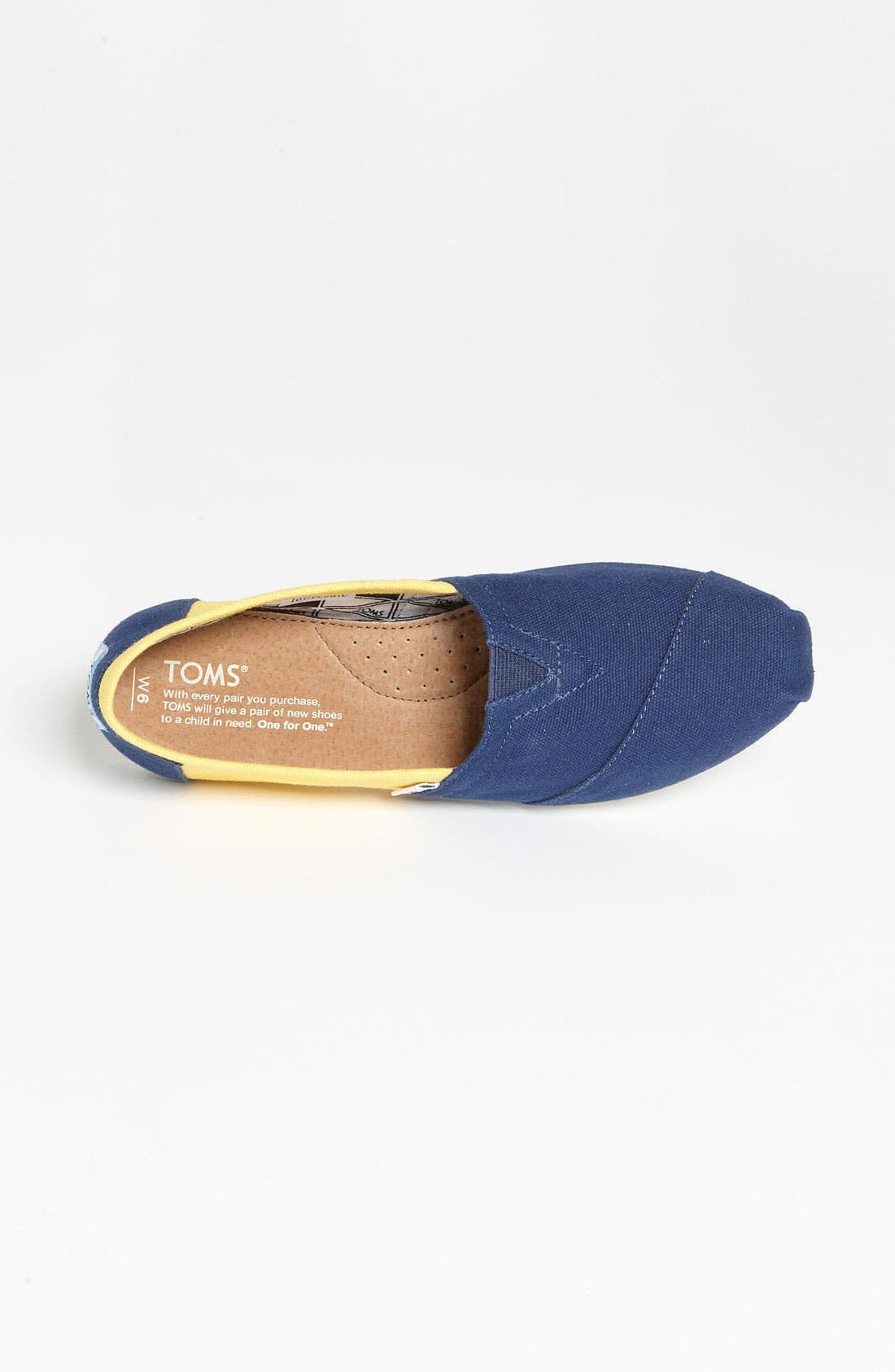 Alternate Image 3  - TOMS 'Campus Classics - University of Michigan' Slip-On (Women)