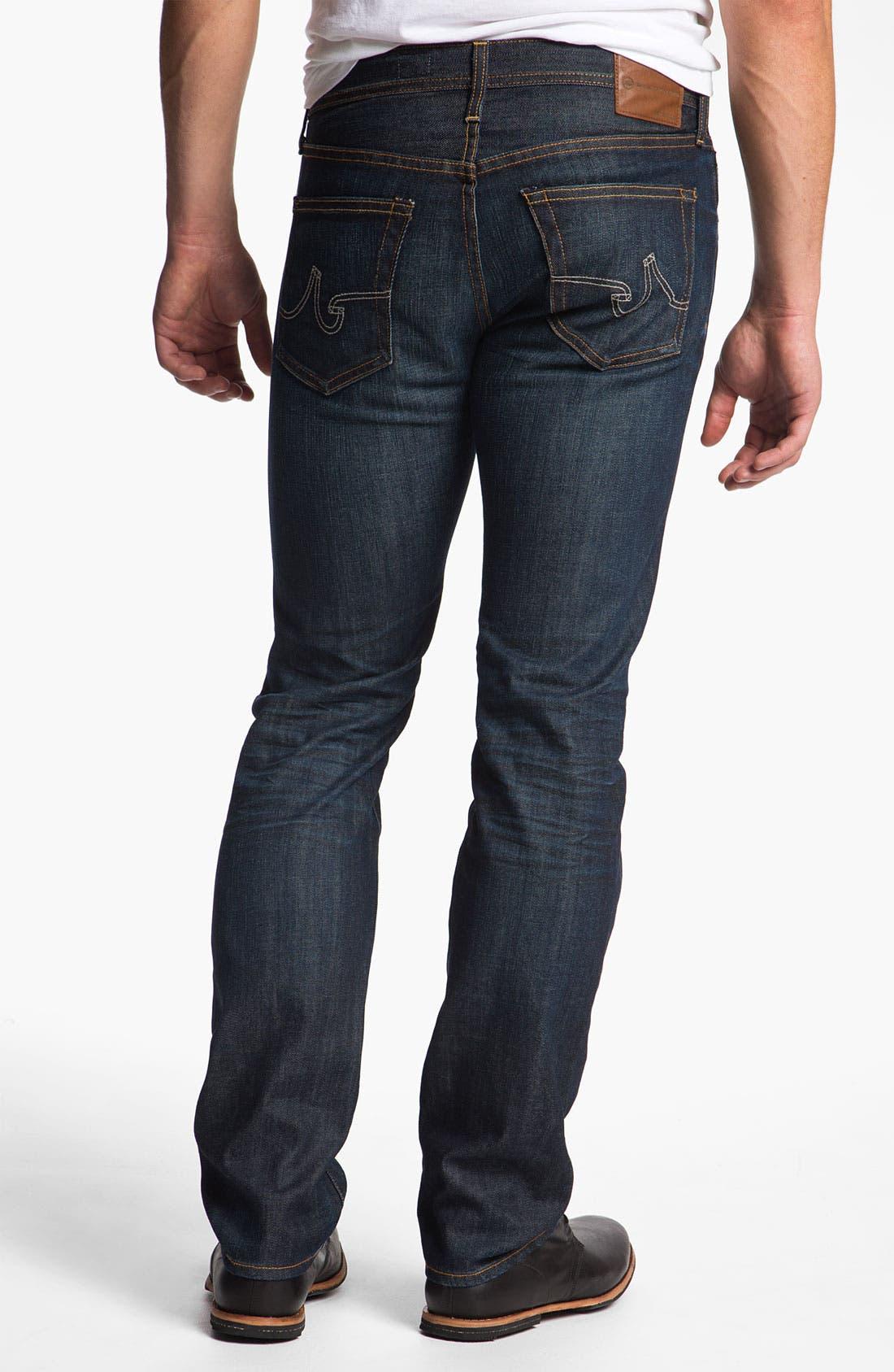 Alternate Image 2  - AG Jeans 'Matchbox' Slim Straight Leg Jeans (5 Year Resin)