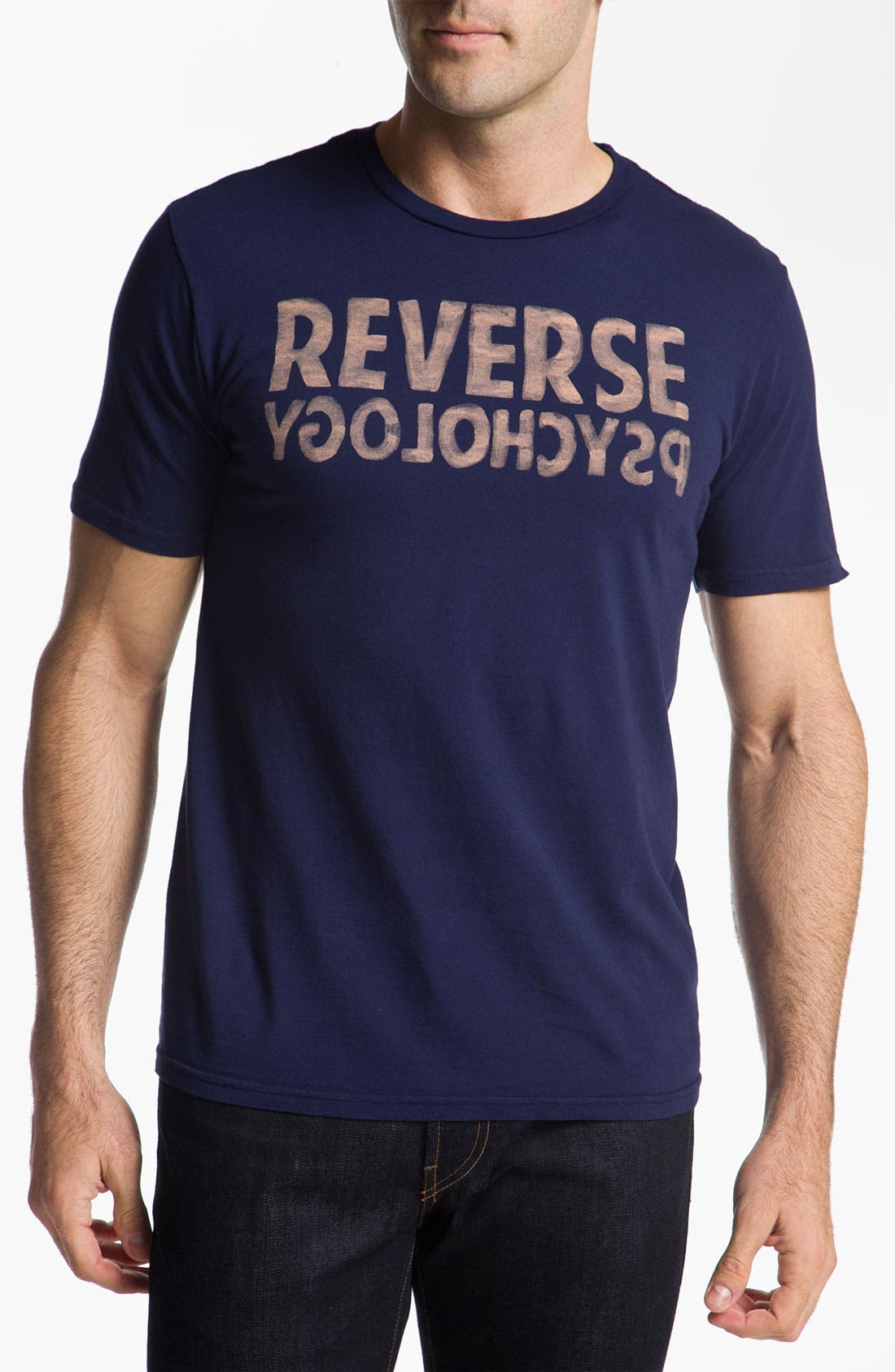 Alternate Image 1 Selected - Chaser 'Reverse Psychology' Graphic T-Shirt