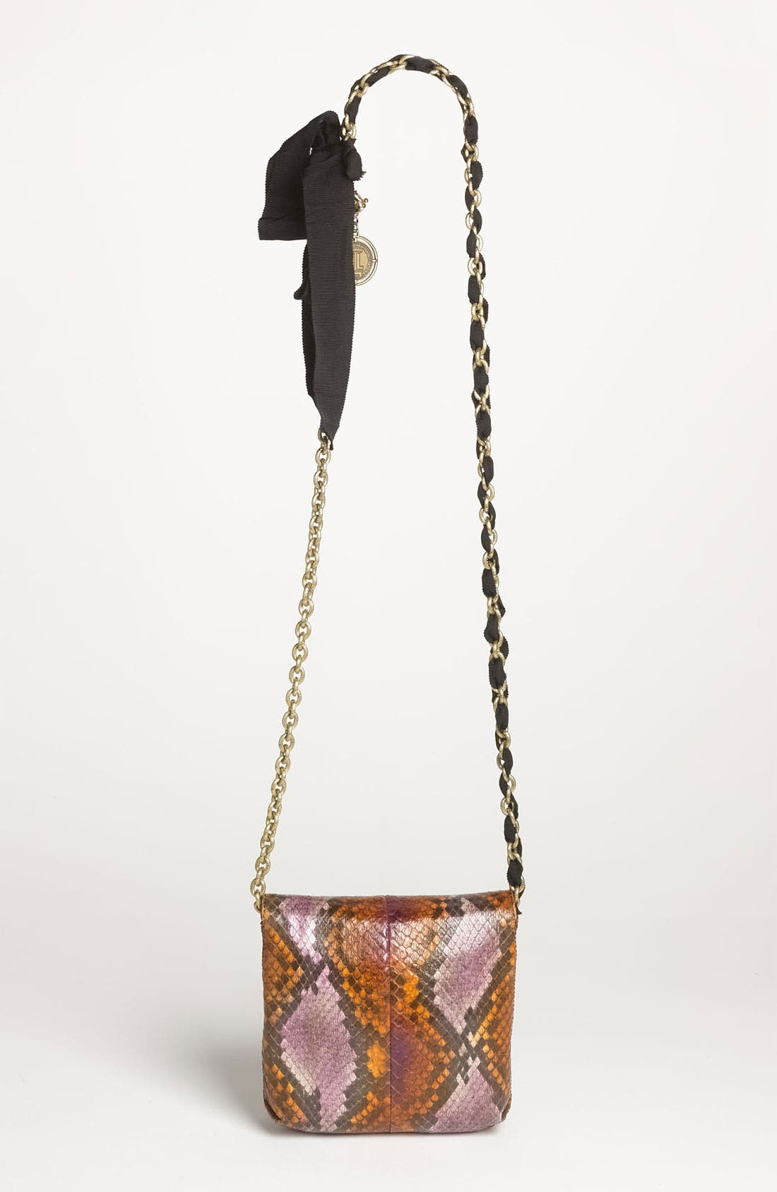 Alternate Image 4  - Lanvin 'Pop Happy - Mini' Genuine Python Crossbody Bag