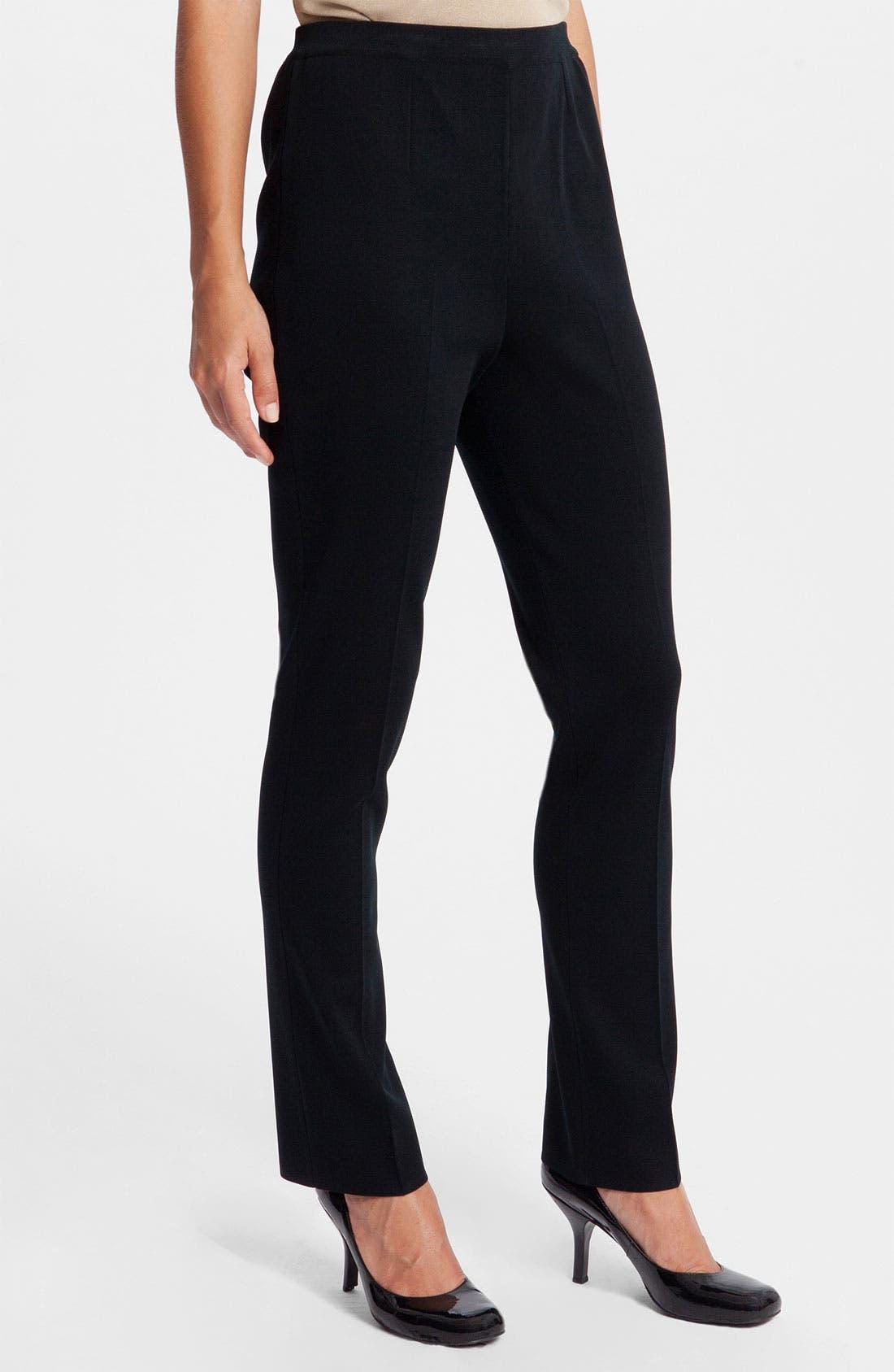Alternate Image 1 Selected - Ming Wang Slim Leg Pants