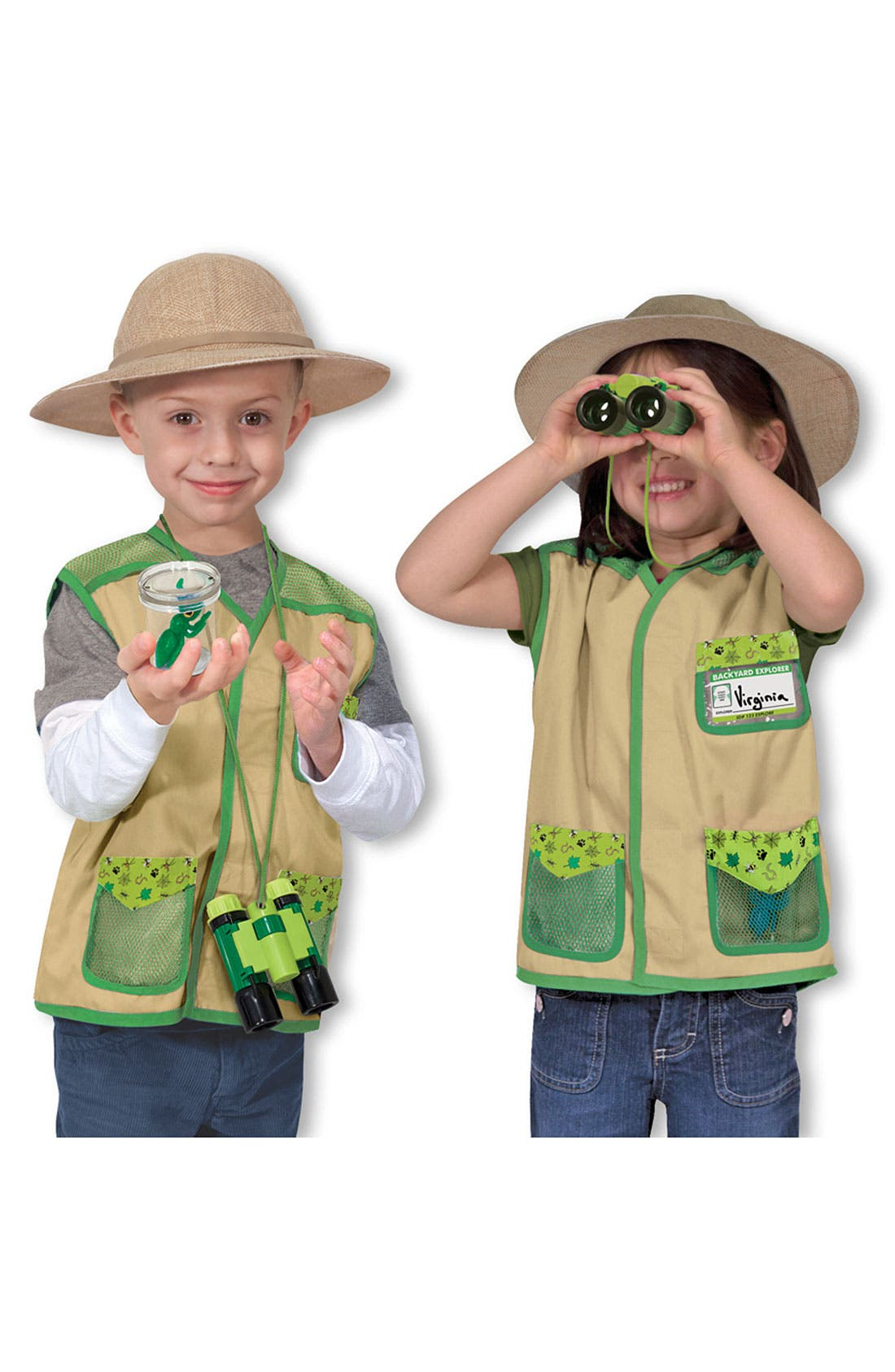 Main Image - Melissa & Doug 'Backyard Explorer' Costume (Toddler)