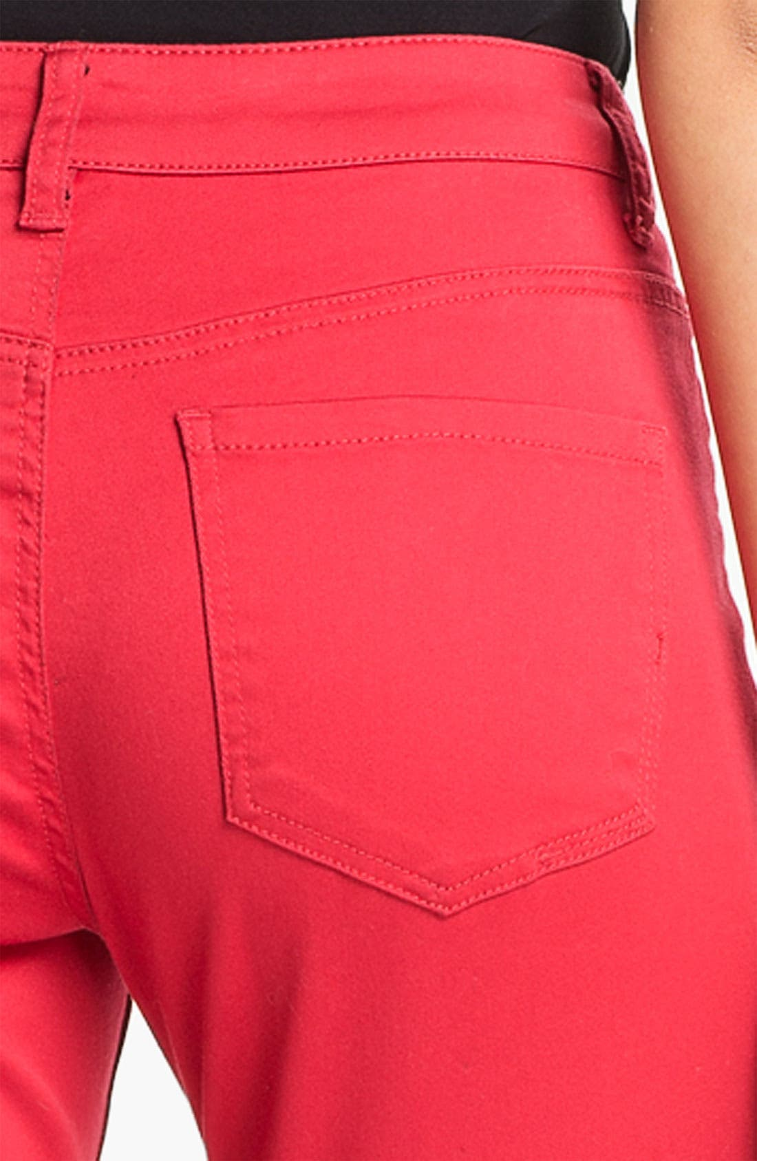 Alternate Image 3  - Liverpool Jeans Company 'Sadie' Colored Straight Leg Stretch Jeans