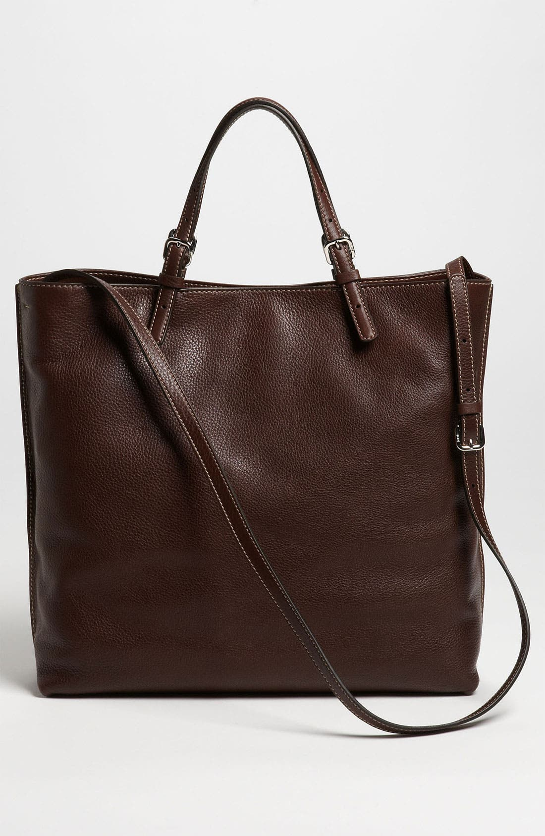 Alternate Image 4  - Tod's 'Logo - Media' Leather Shopper