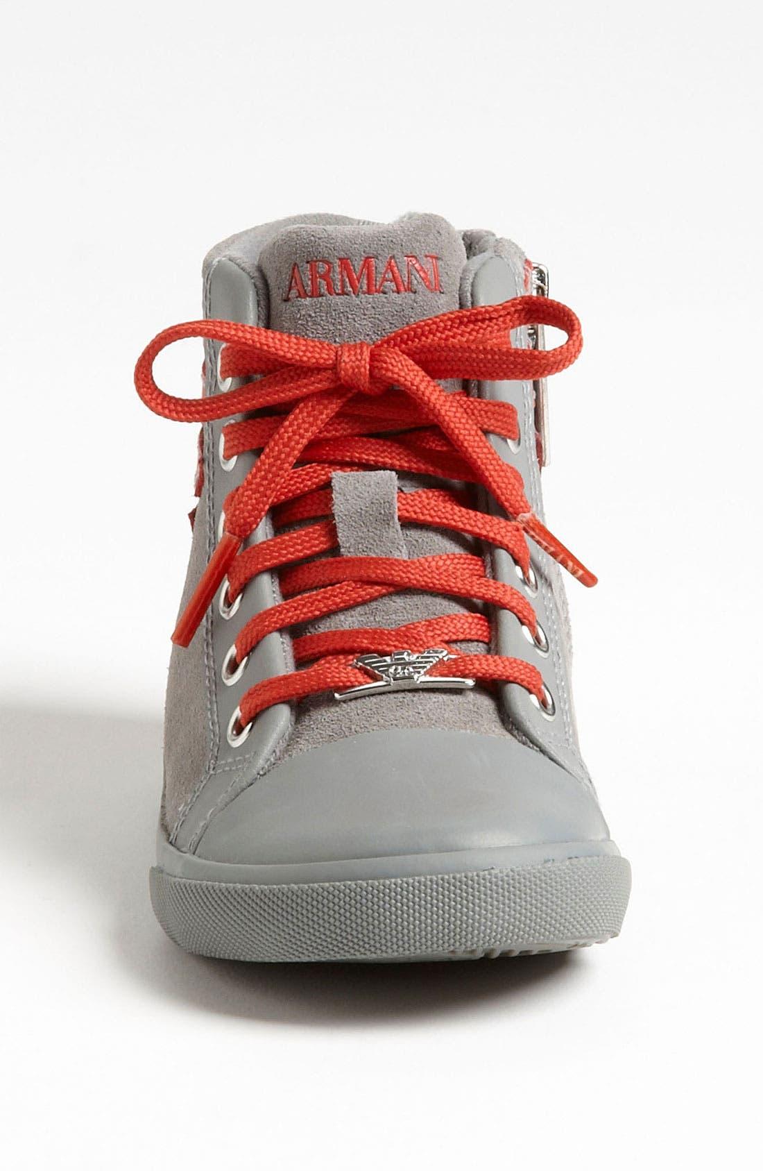 Alternate Image 3  - Armani Junior 'Eagle' Sneaker (Walker & Toddler)