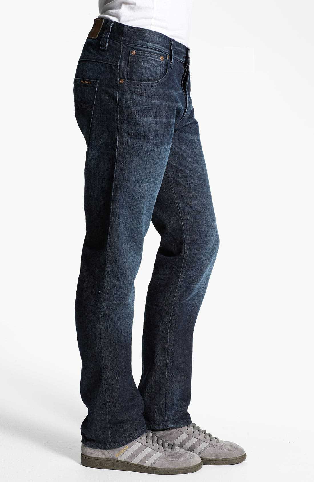 Alternate Image 3  - Nudie 'Hank Rey' Straight Leg Jeans (Organic All Crinkled Up)