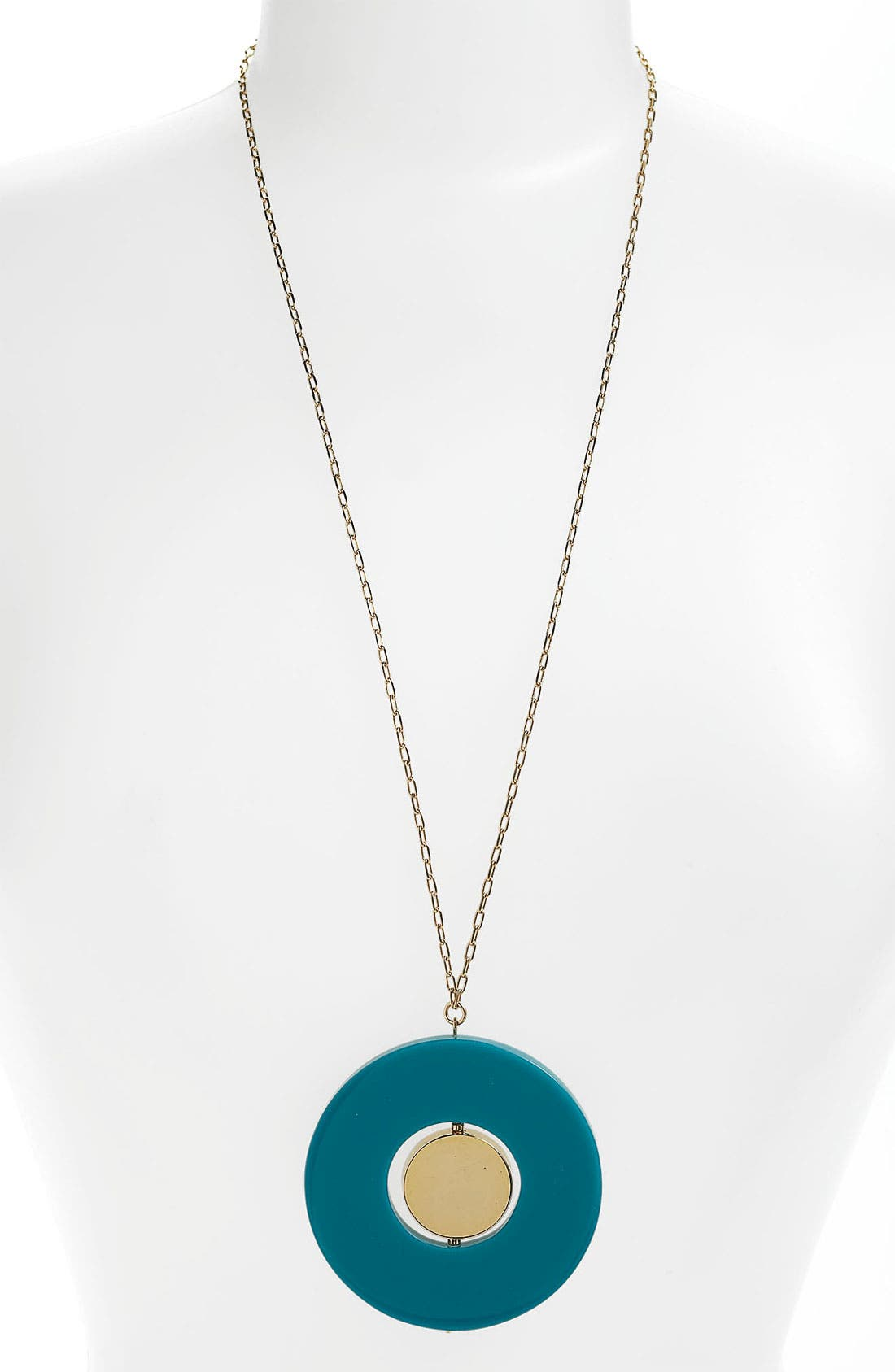 Alternate Image 1 Selected - kate spade new york 'come full circle' long pendant necklace