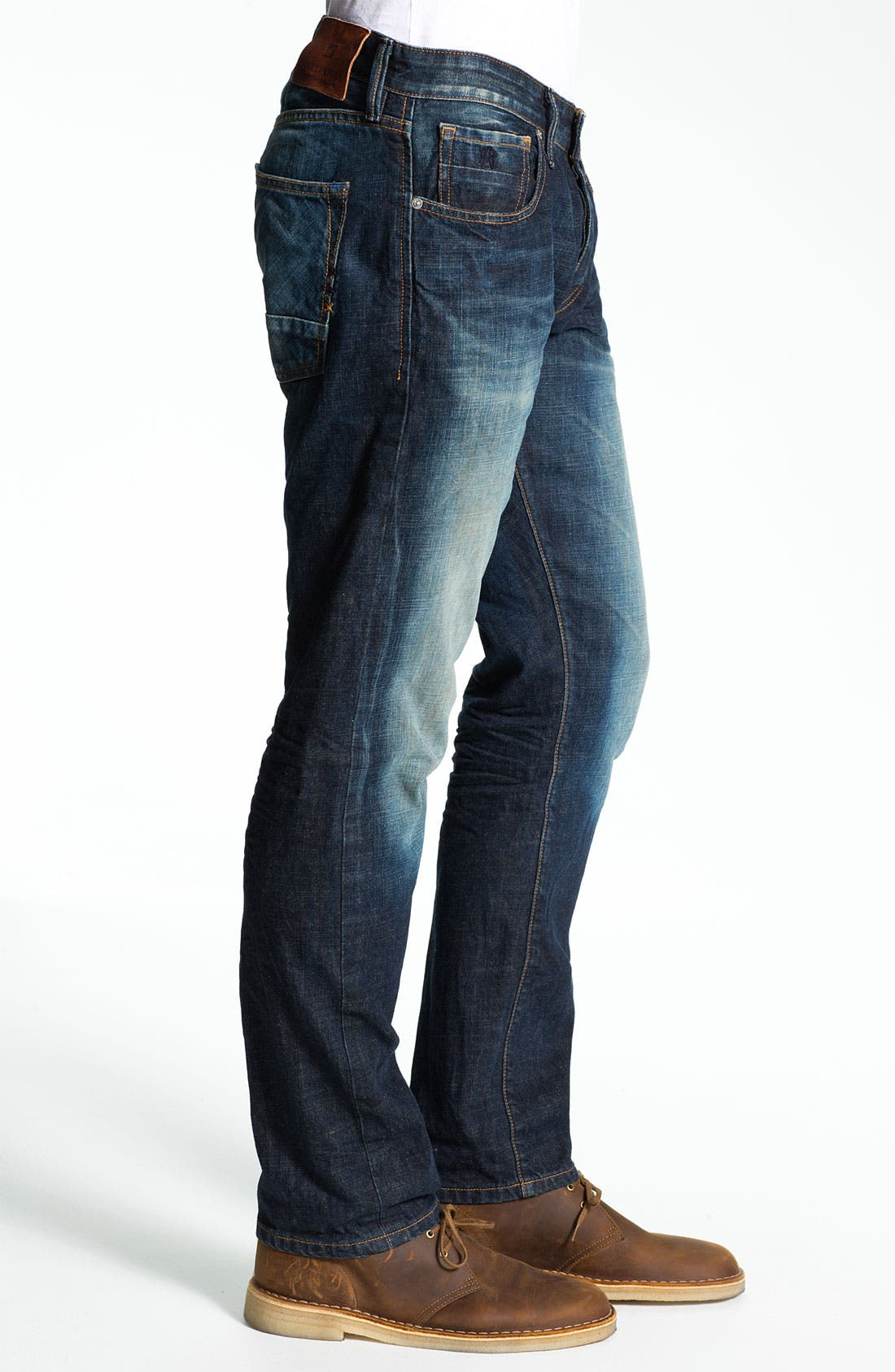 Alternate Image 3  - Scotch & Soda 'Ralston' Slim Straight Leg Jeans (Blue Buzz)