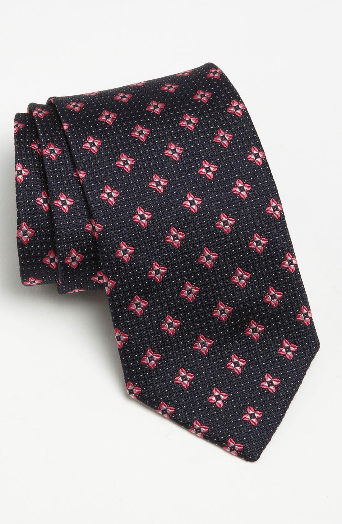 Main Image - Eton Woven Silk Tie