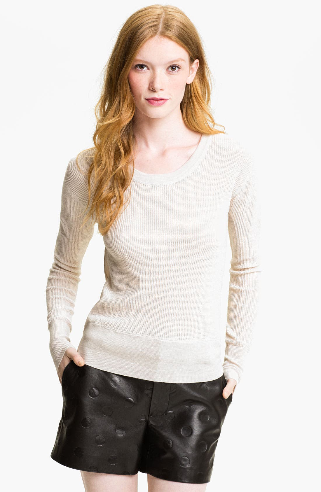 Alternate Image 1 Selected - MARC BY MARC JACOBS 'Tinker' Merino Wool Thermal Top