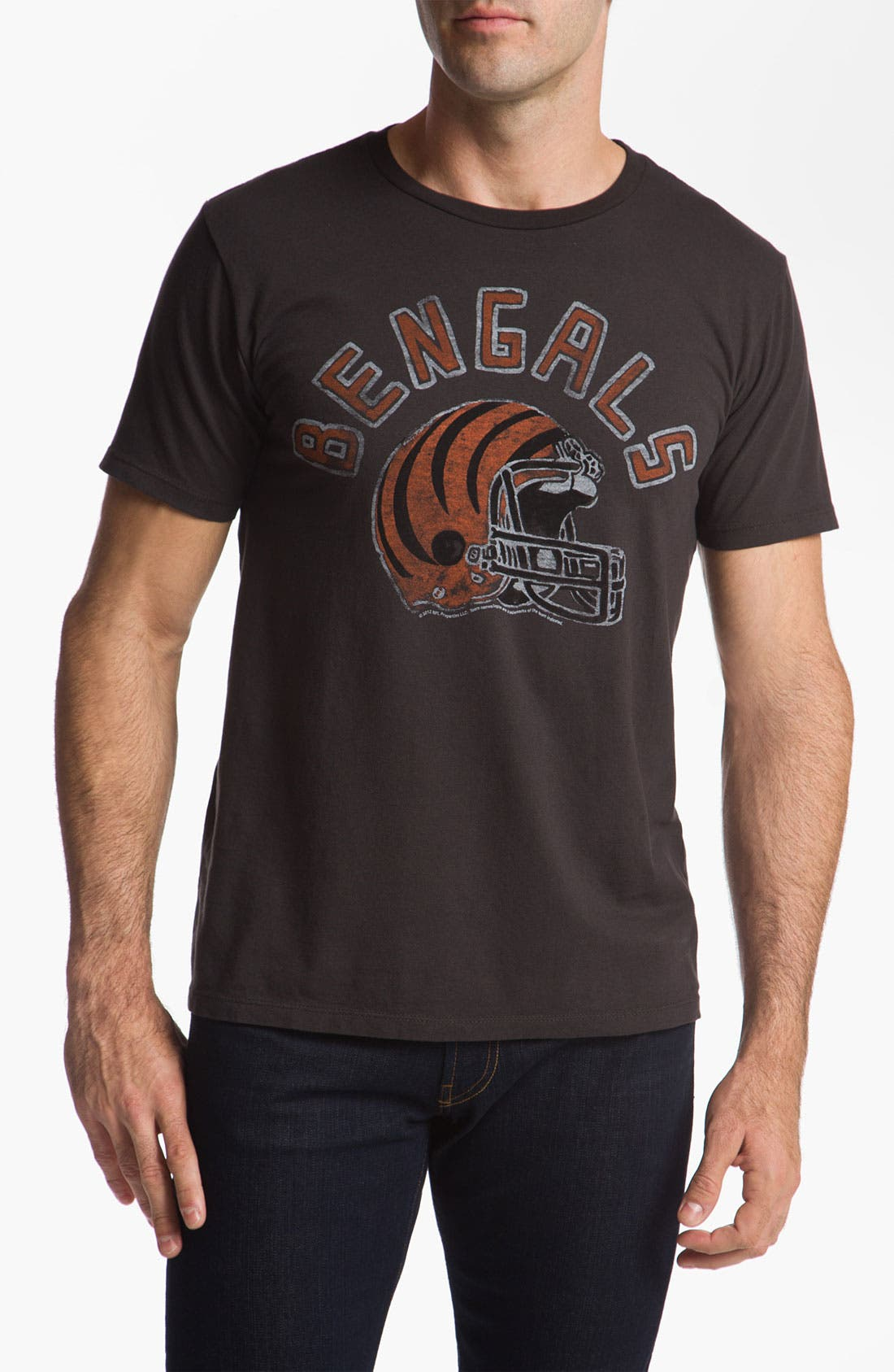 Alternate Image 1 Selected - Junk Food 'Cincinnati Bengals' T-Shirt
