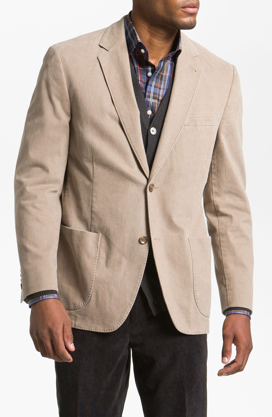 Alternate Image 1 Selected - Kroon Brushed Cotton Sportcoat