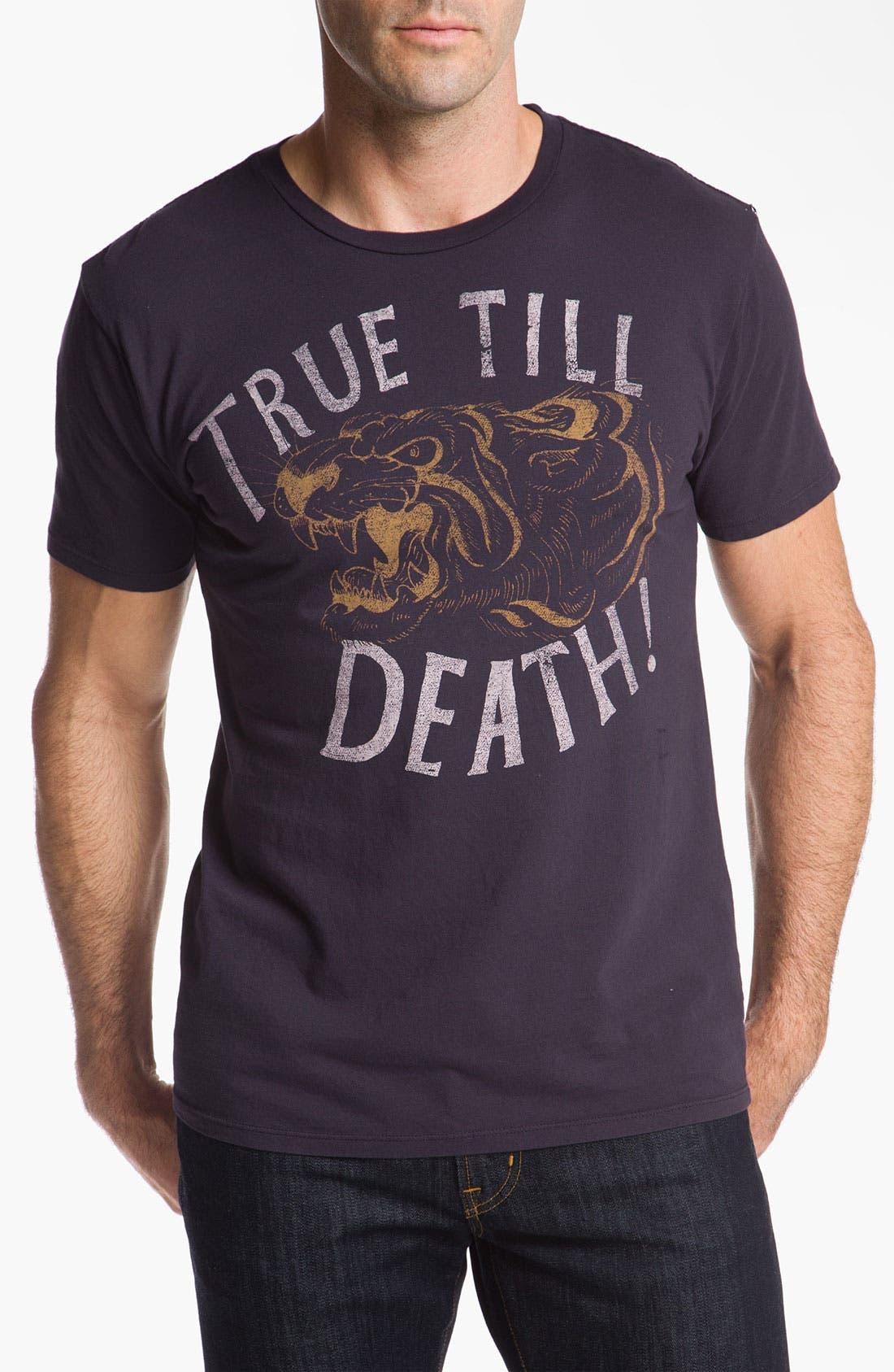 Alternate Image 1 Selected - CXXVI 'True 'Till Death' T-Shirt