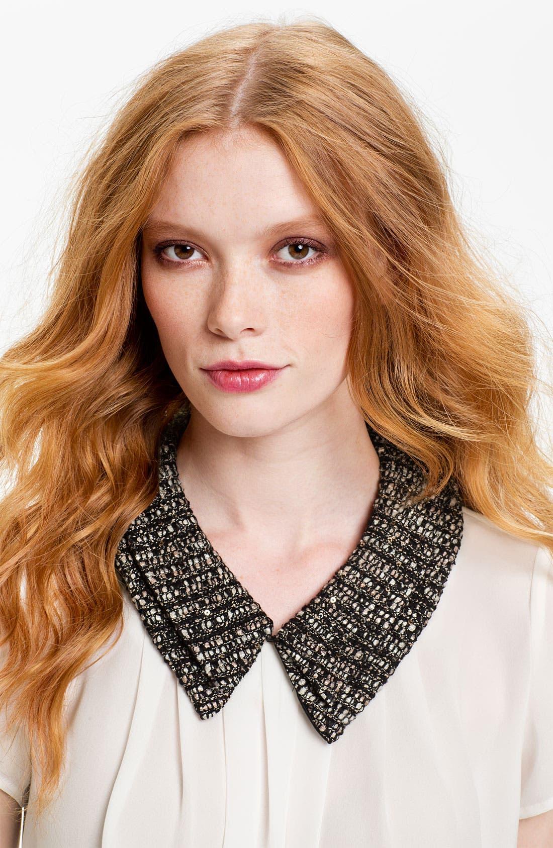 Alternate Image 1 Selected - Tasha 'Sparkle Tweed' Collar