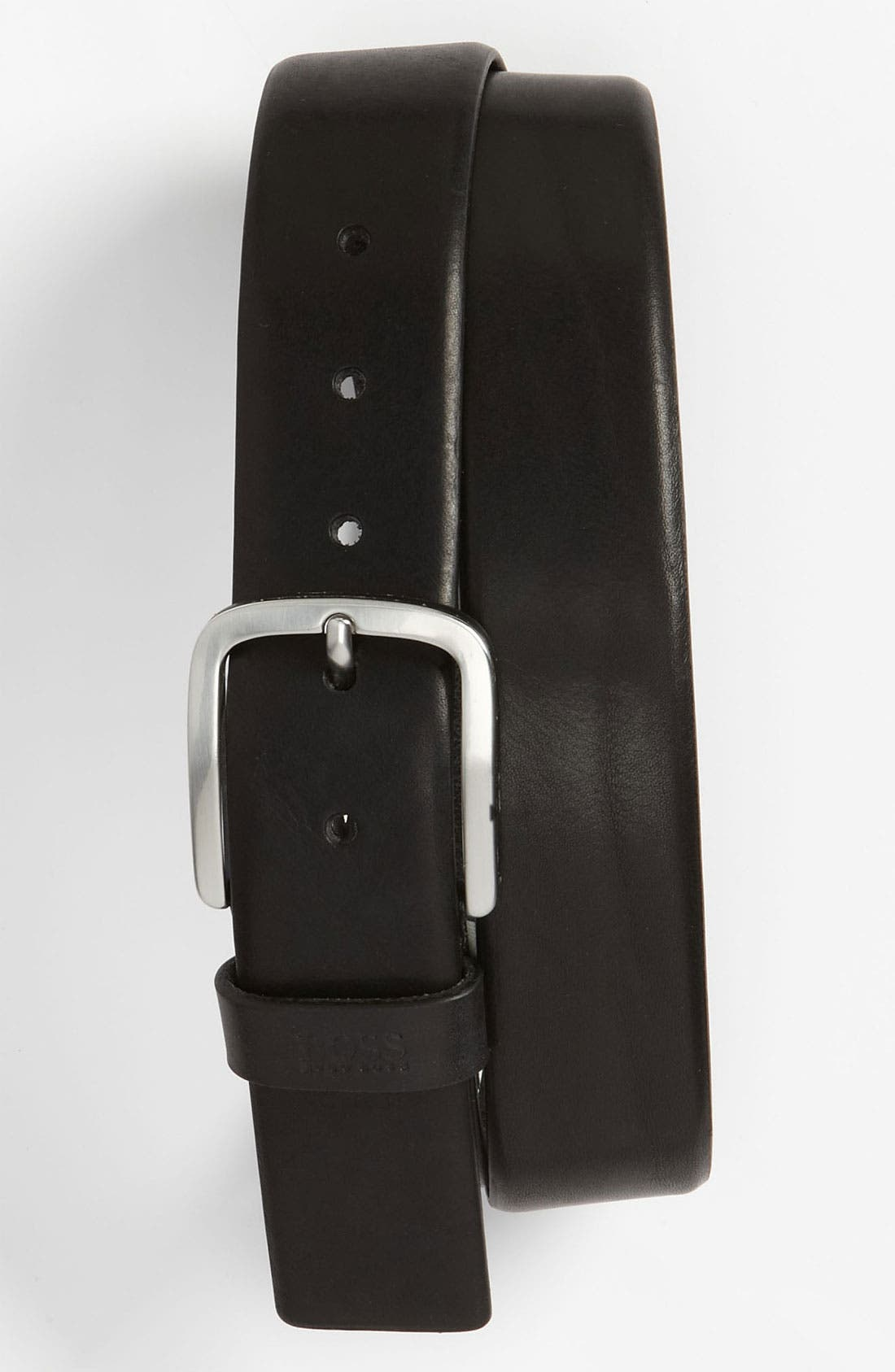 Main Image - BOSS Black 'Sun' Leather Belt