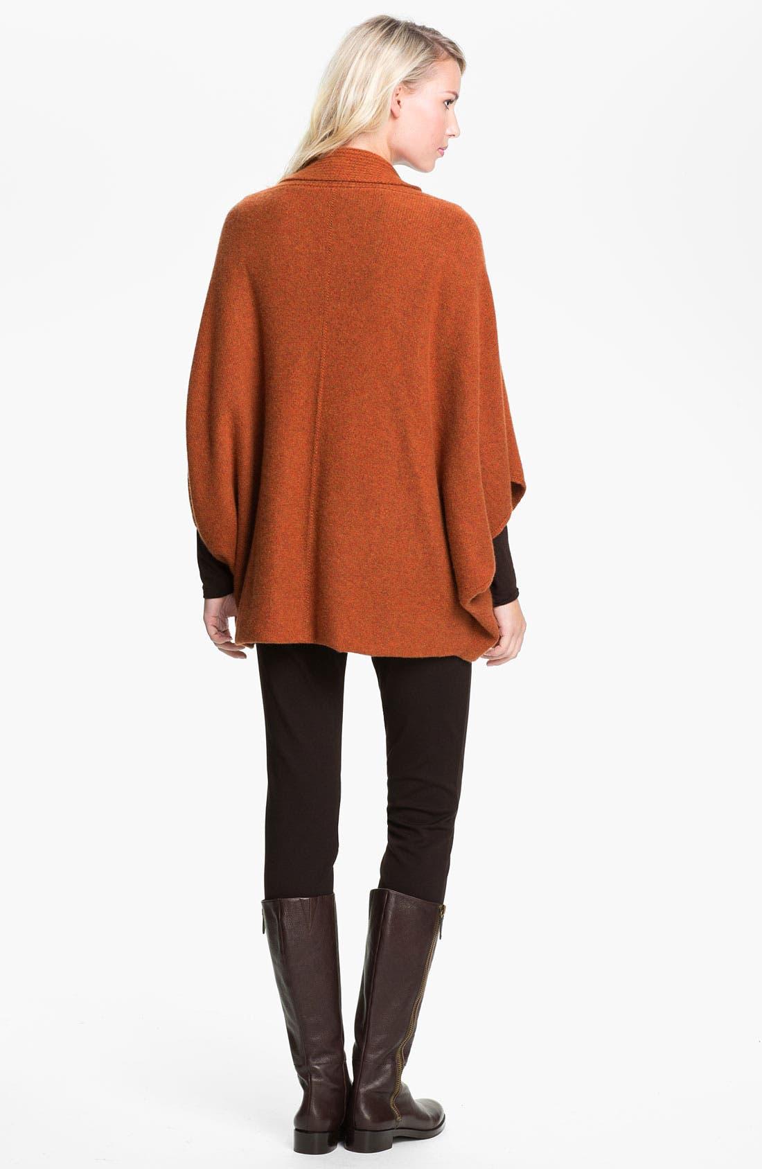 Alternate Image 5  - Eileen Fisher Kimono Cashmere Cardigan