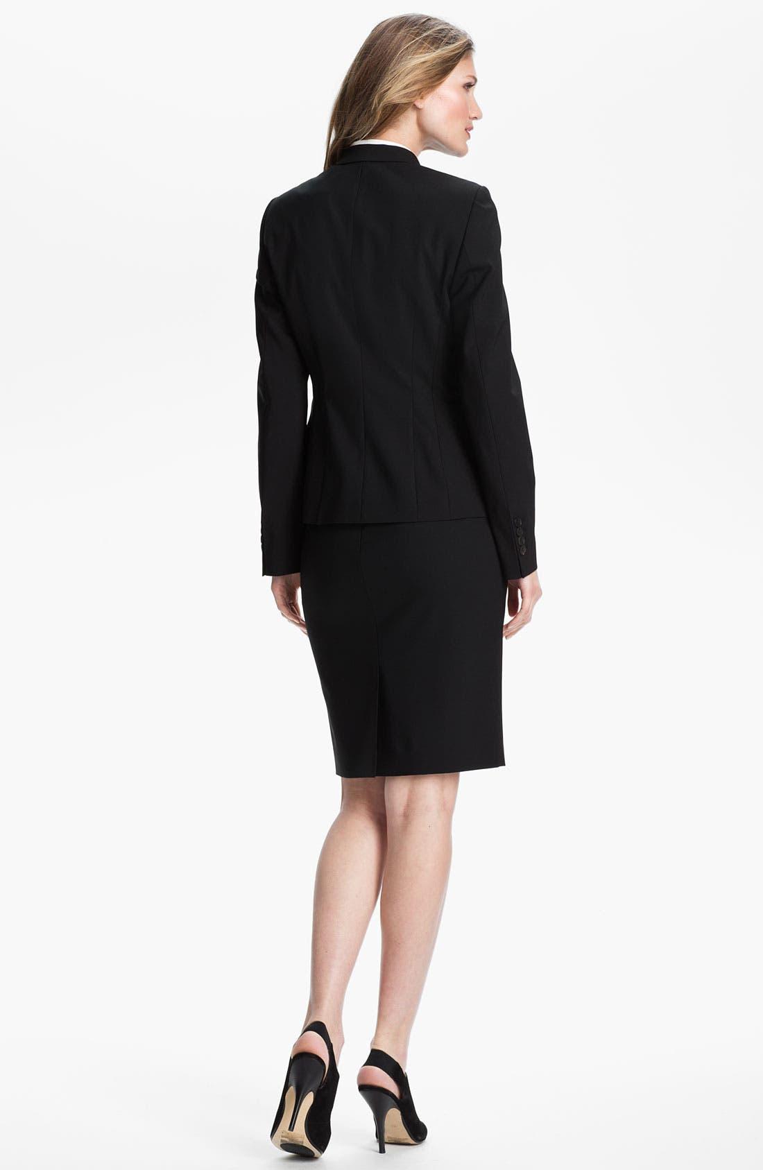 Alternate Image 5  - BOSS Stretch Wool Jacket