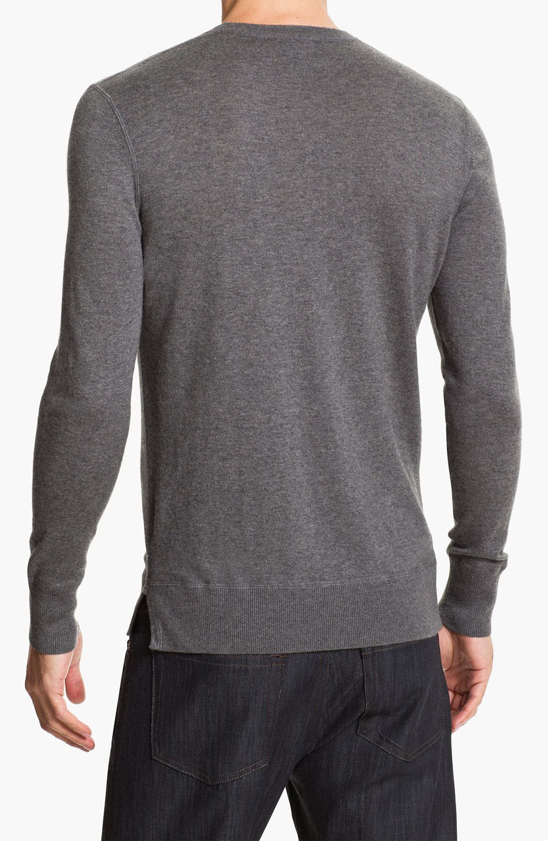 Alternate Image 2  - Burberry Brit Check Sweater