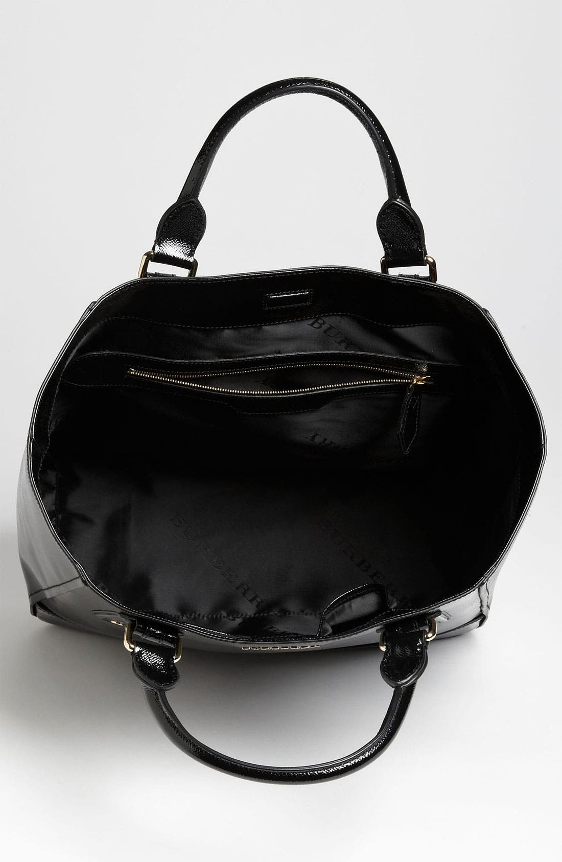 Alternate Image 3  - Burberry Patent Leather Tote
