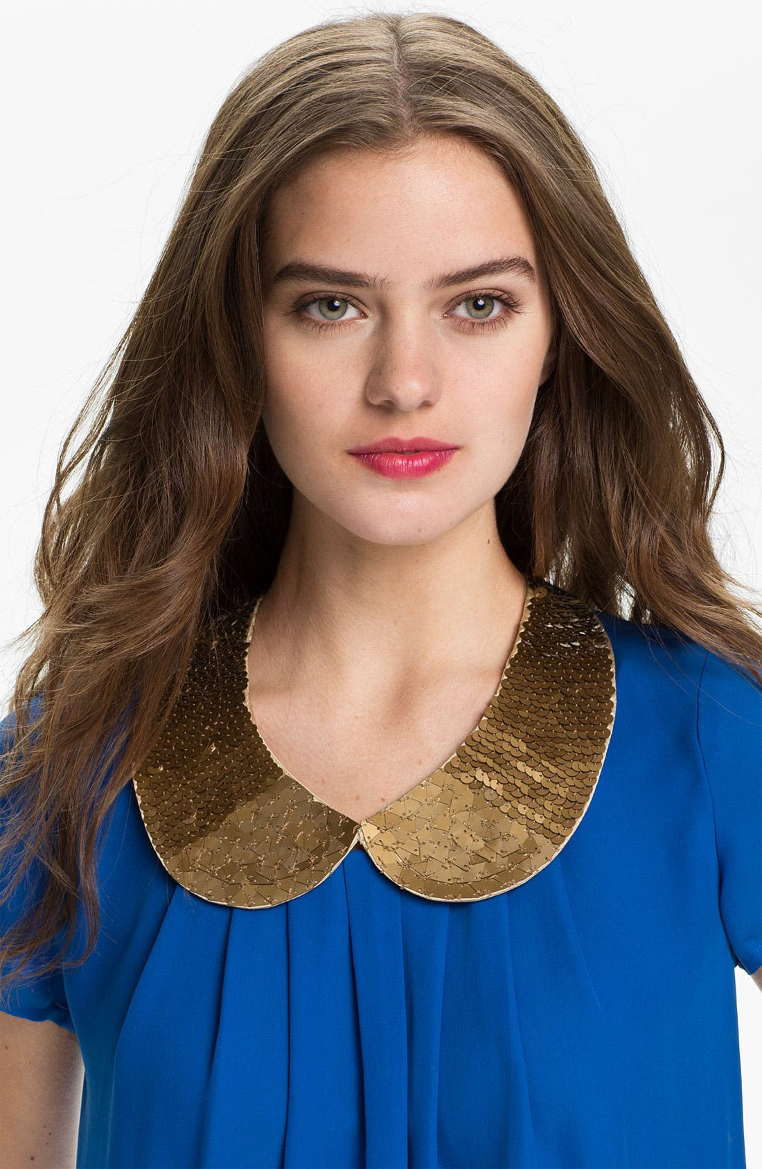Alternate Image 1 Selected - Tarnish Sequin Collar