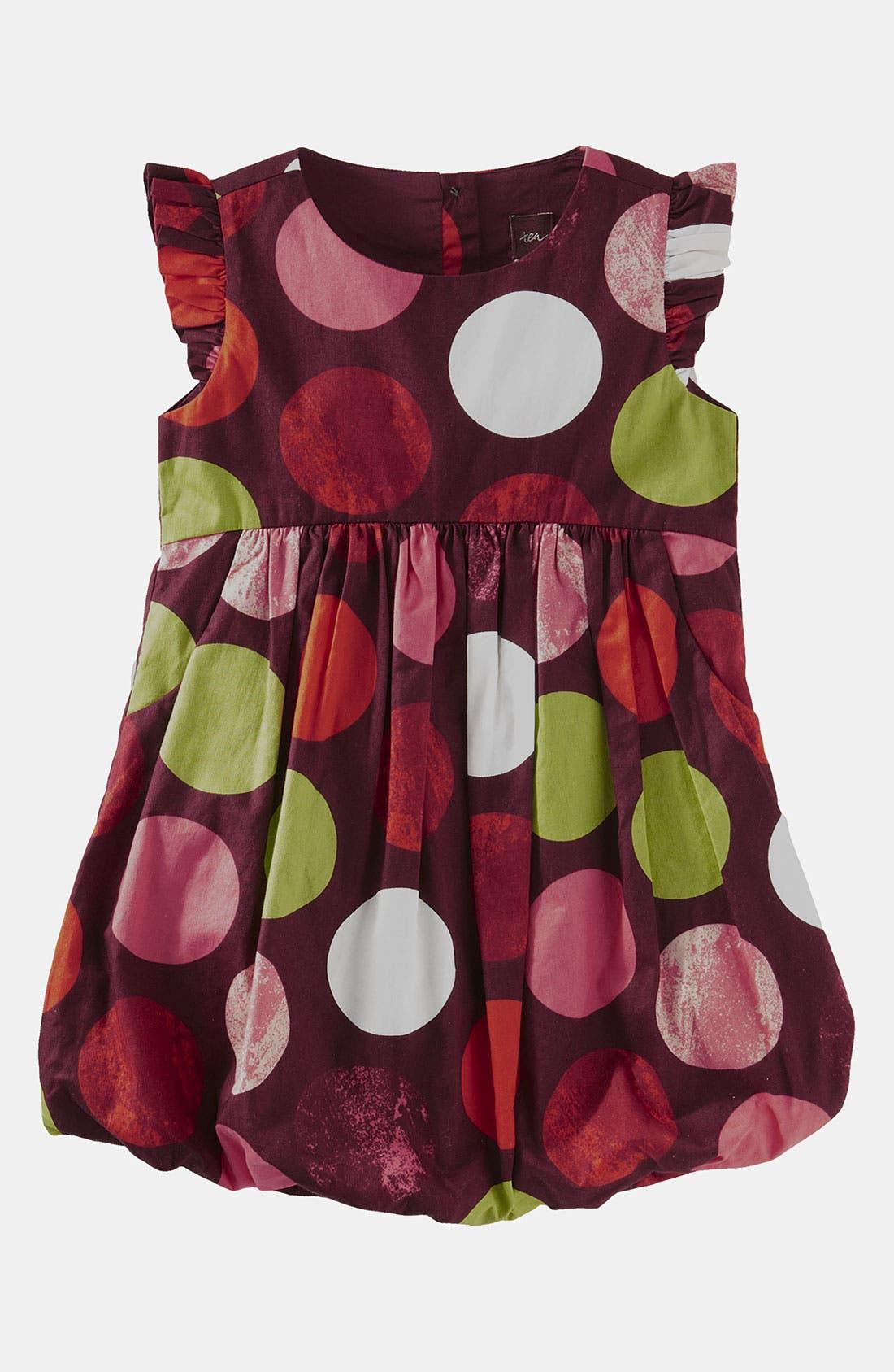Alternate Image 1 Selected - Tea Collection Watercolor Bubble Dress (Infant)