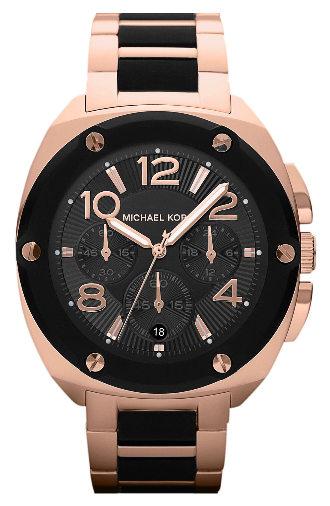 Main Image - Michael Kors 'Tribeca' Chronograph Bracelet Watch, 43mm