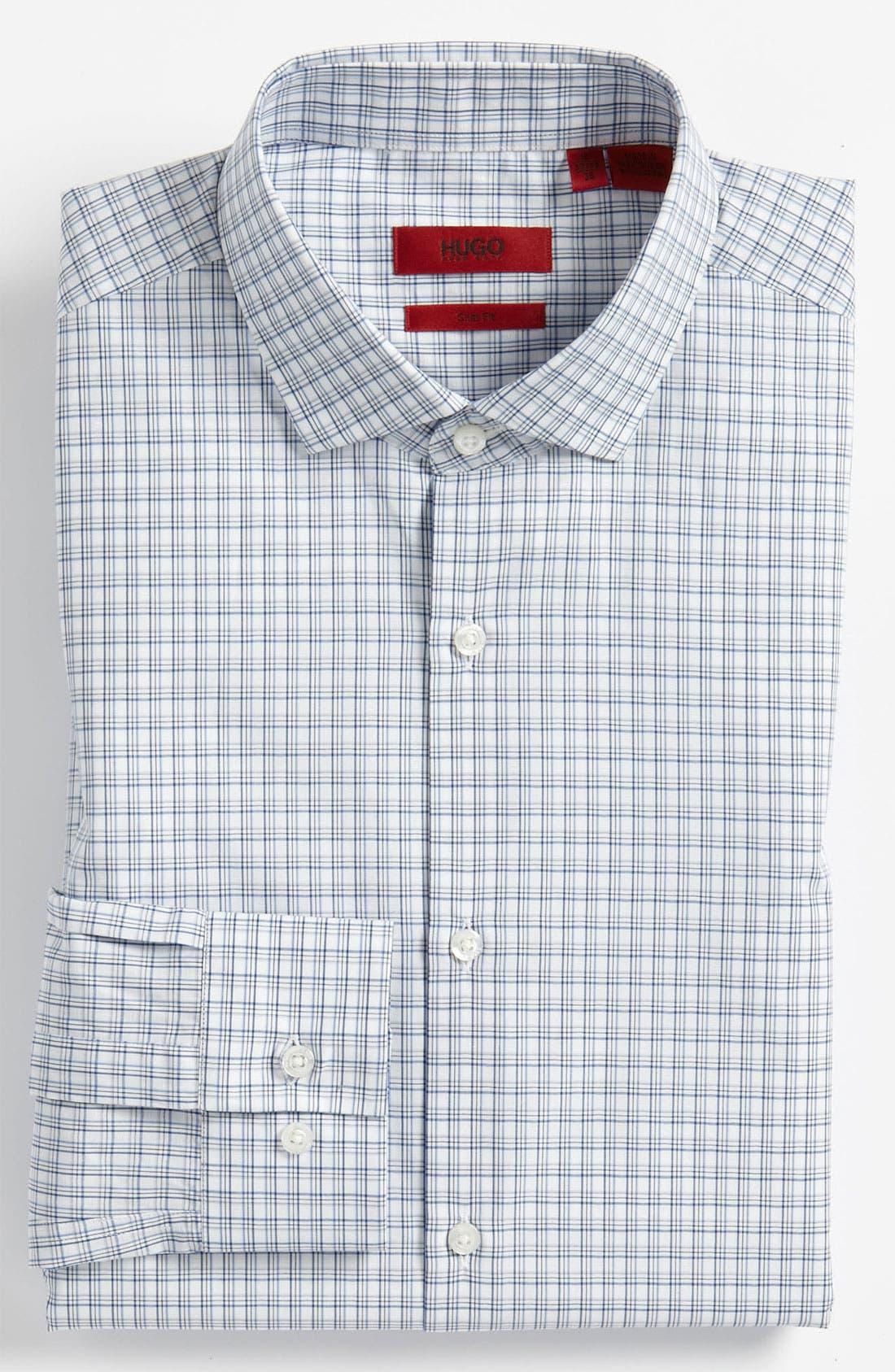 Main Image - HUGO Slim Fit Dress Shirt