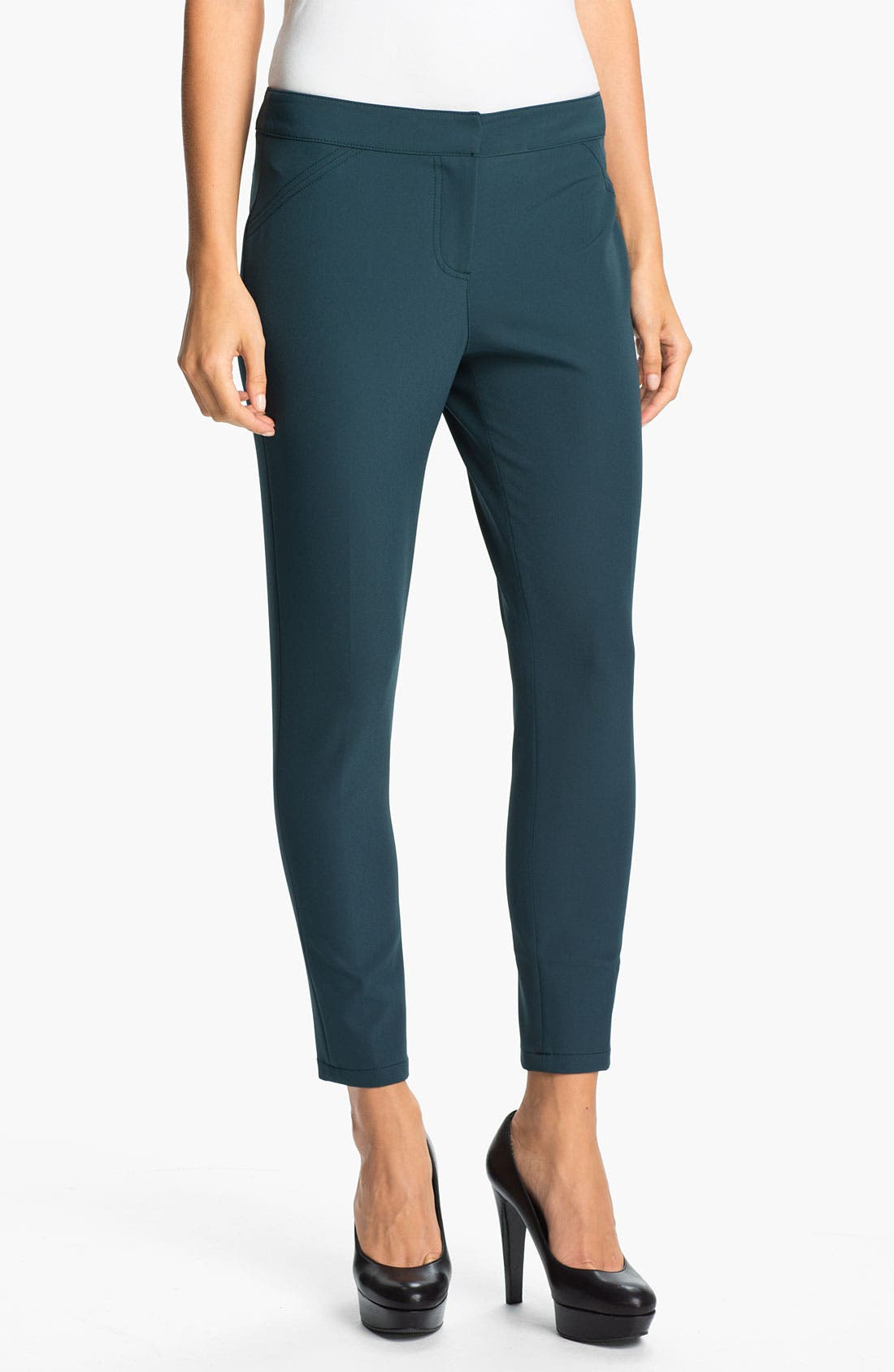 Alternate Image 1 Selected - Kenneth Cole New York 'Paige' Tech Pants (Petite)