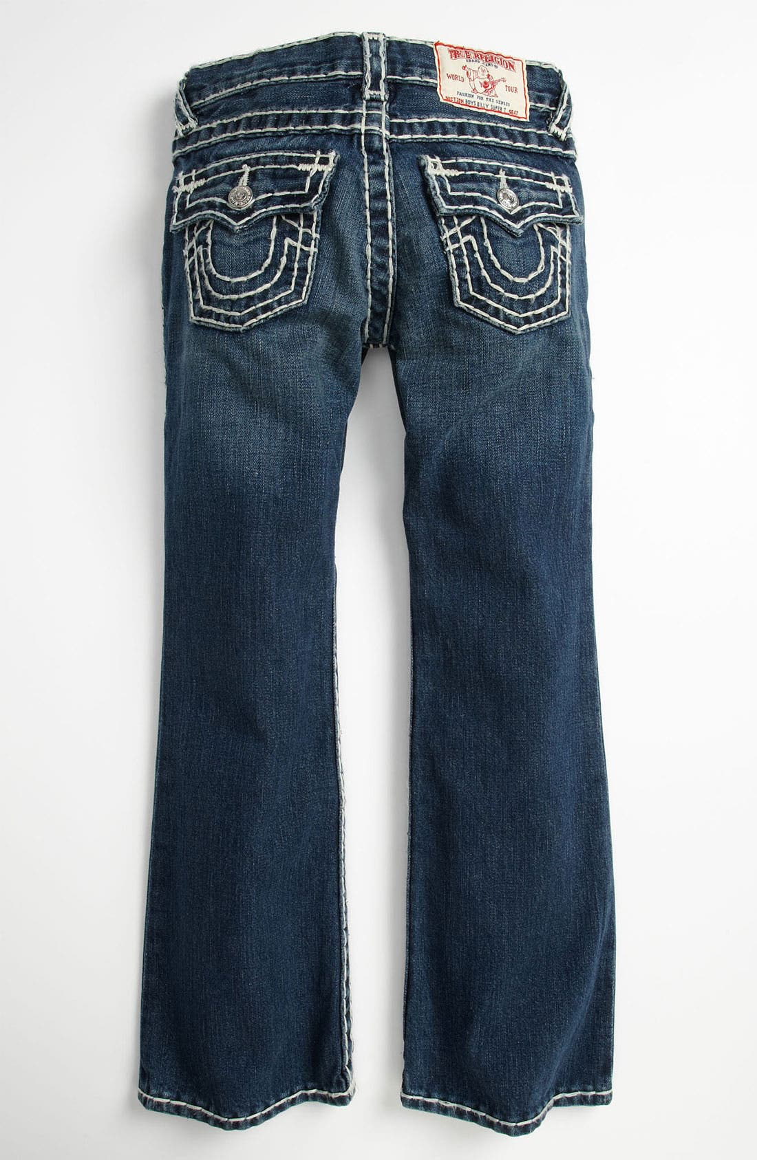 Alternate Image 1 Selected - True Religion Brand Jeans 'Billy' Bootcut Jeans (Big Boys)