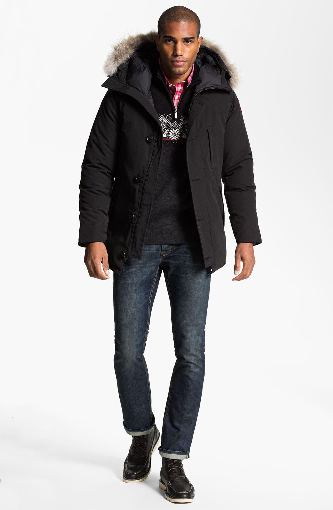 Alternate Image 6  - Dale of Norway 'St Moritz' Quarter Zip Merino Wool Sweater