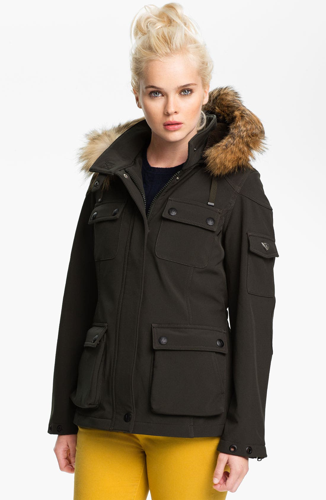 Alternate Image 1 Selected - 1 Madison Cargo Jacket with Detachable Down & Feather Vest