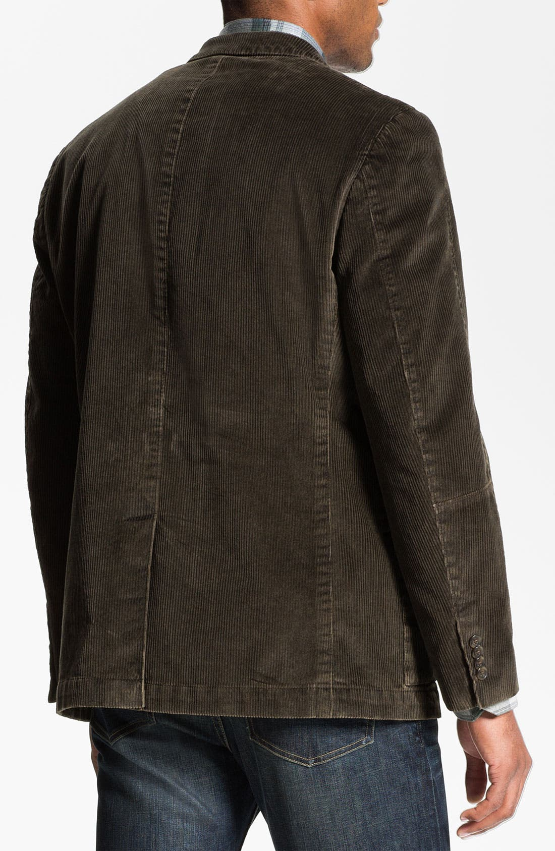 Alternate Image 2  - Kroon 'Matthews' Washed Corduroy Sportcoat